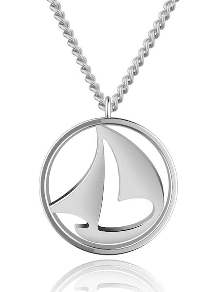 Ketten für Frauen - Paul Hewitt Kette 'Sail Away PH N B S' silber  - Onlineshop ABOUT YOU
