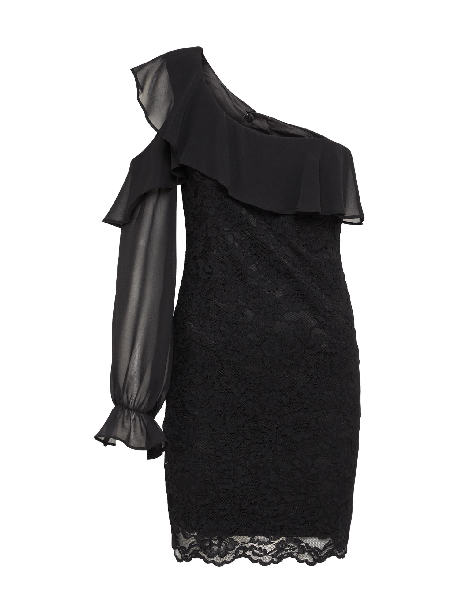 Koktejlové šaty FIORELLA černá Bardot