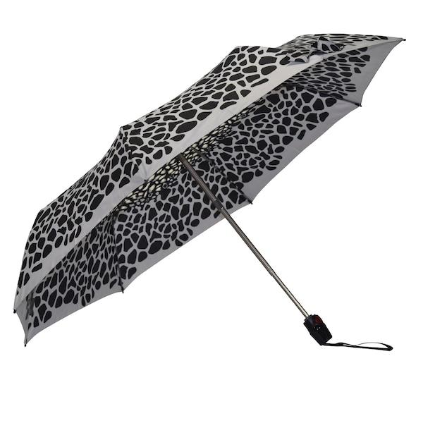 Regenschirme für Frauen - Regenschirm › knirps › hellgrau schwarz  - Onlineshop ABOUT YOU