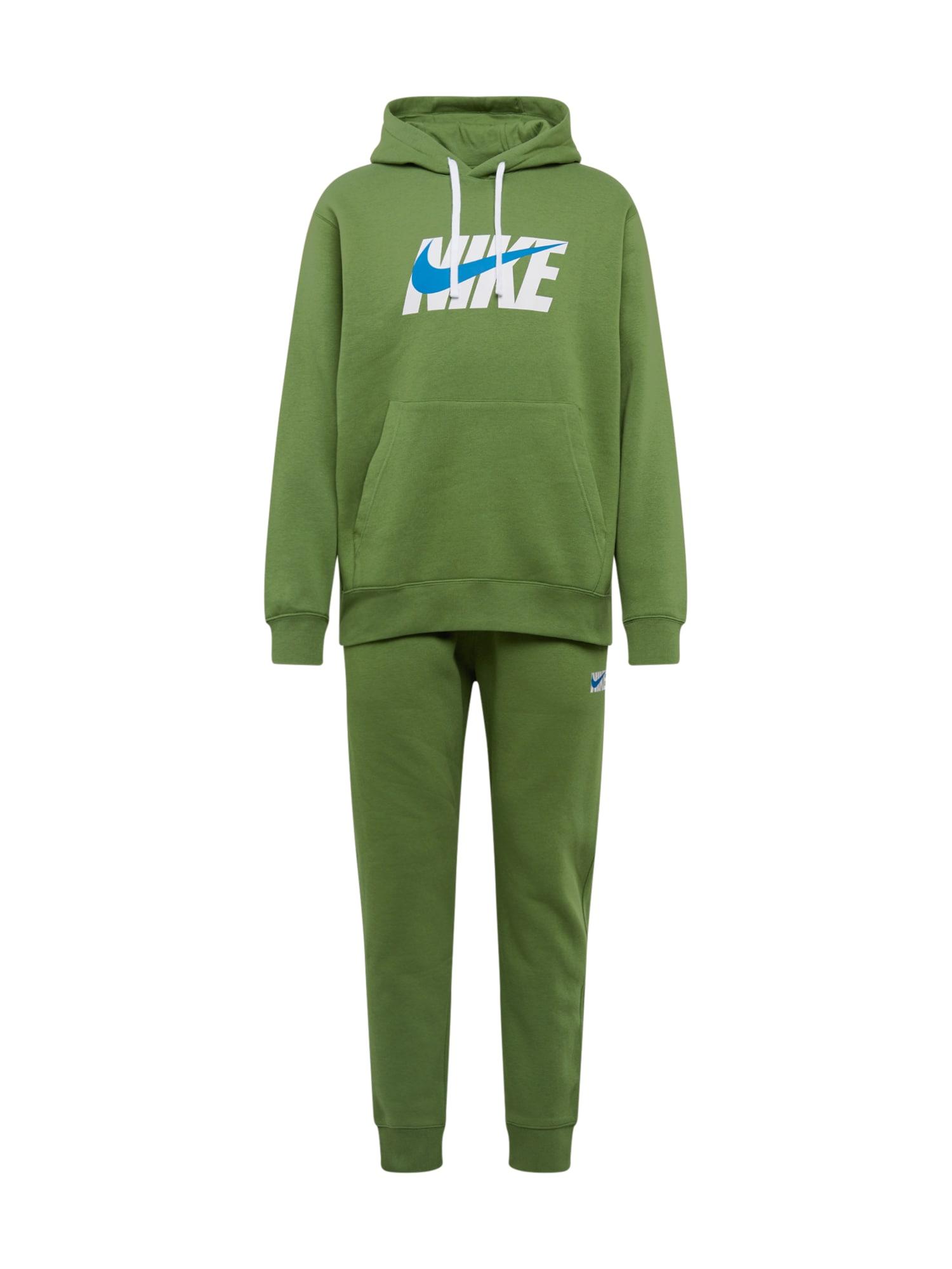 Nike Sportswear Naminis kostiumas balta / mėlyna / granatų spalva