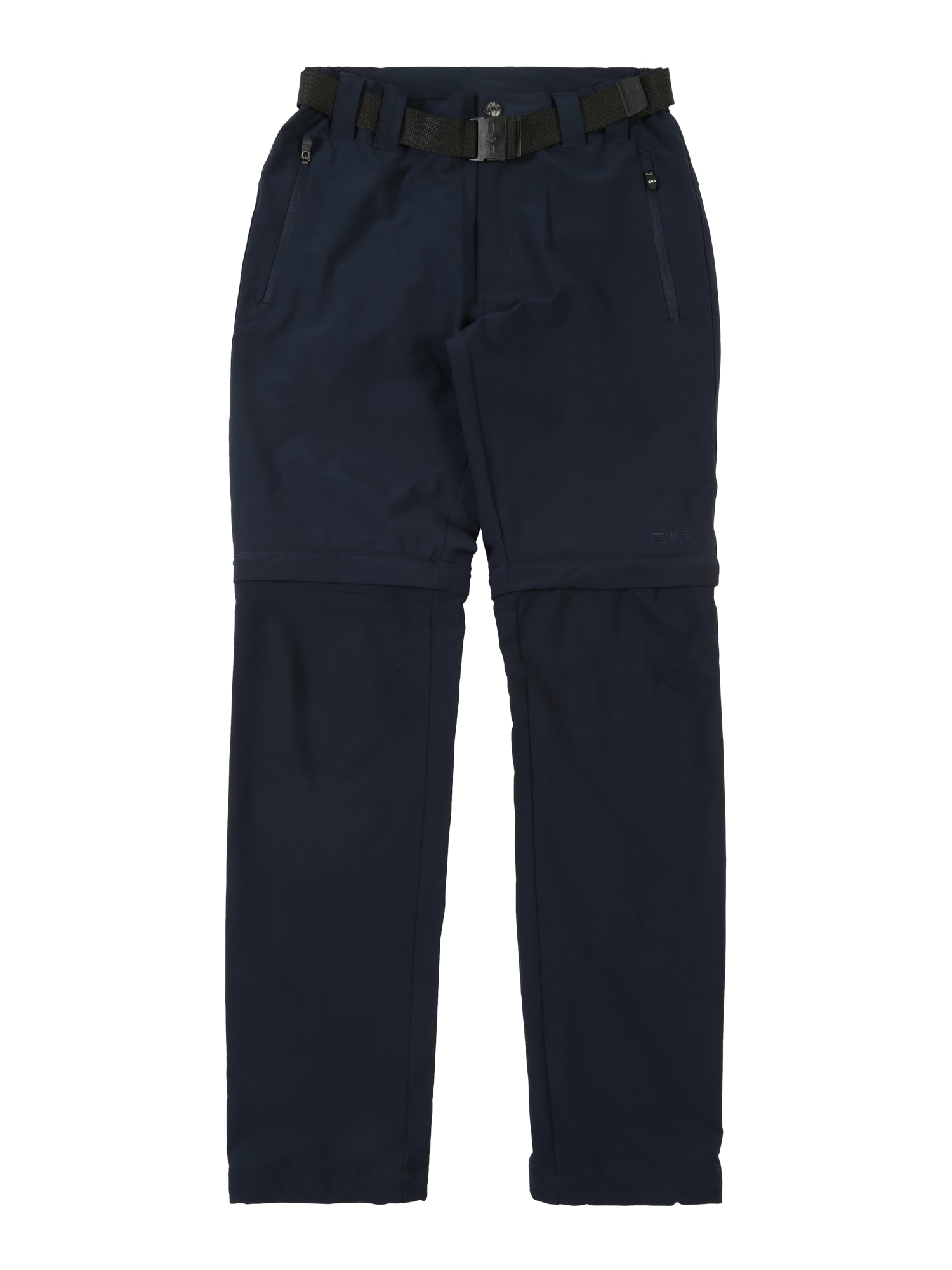 Kalhoty BOY PANT ZIP OFF modrá černá CMP