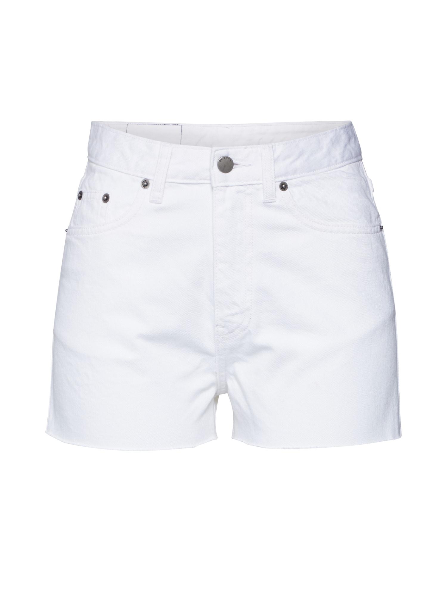 Dr. Denim Džinsai 'Skye' balto džinso spalva