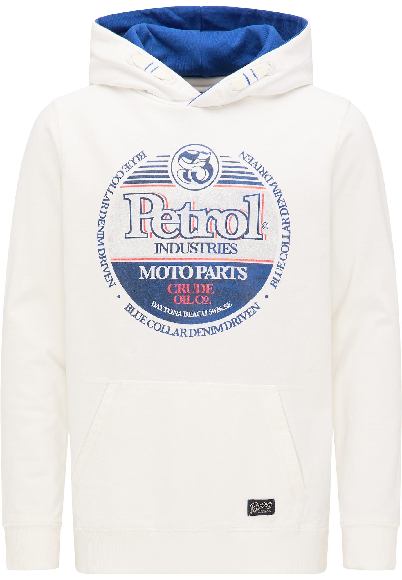 Petrol Industries Sweatshirt  biela