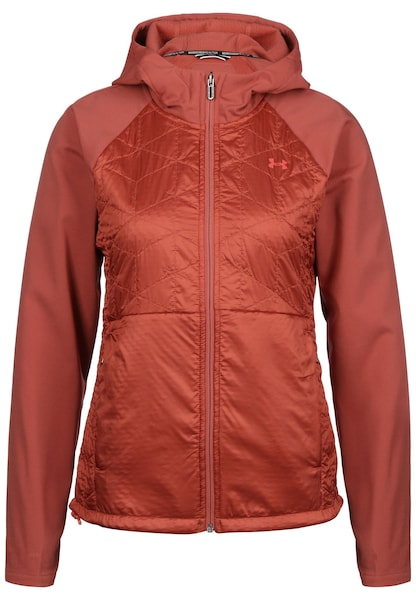 Jacken für Frauen - UNDER ARMOUR Jacke 'ColdGear Reactor 3G Hybrid' dunkelorange  - Onlineshop ABOUT YOU