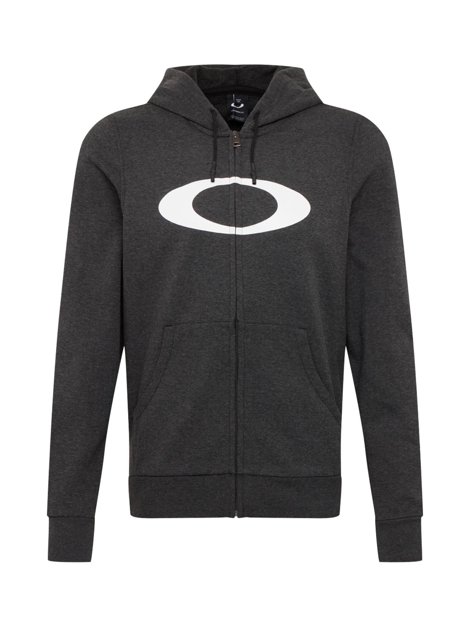 OAKLEY Sportinis džemperis tamsiai pilka