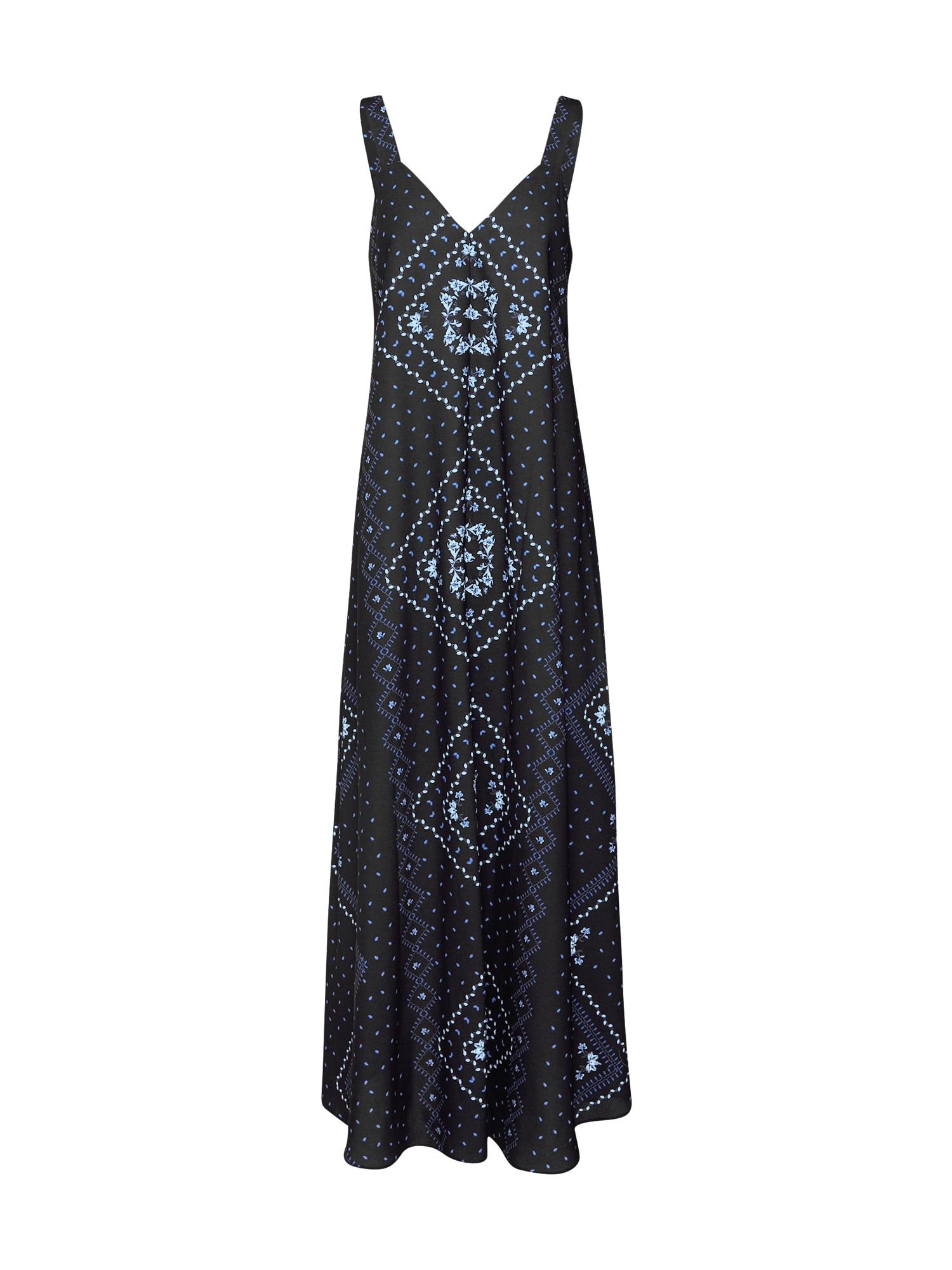 EDITED Suknelė 'Annalie' mėlyna / juoda / balta