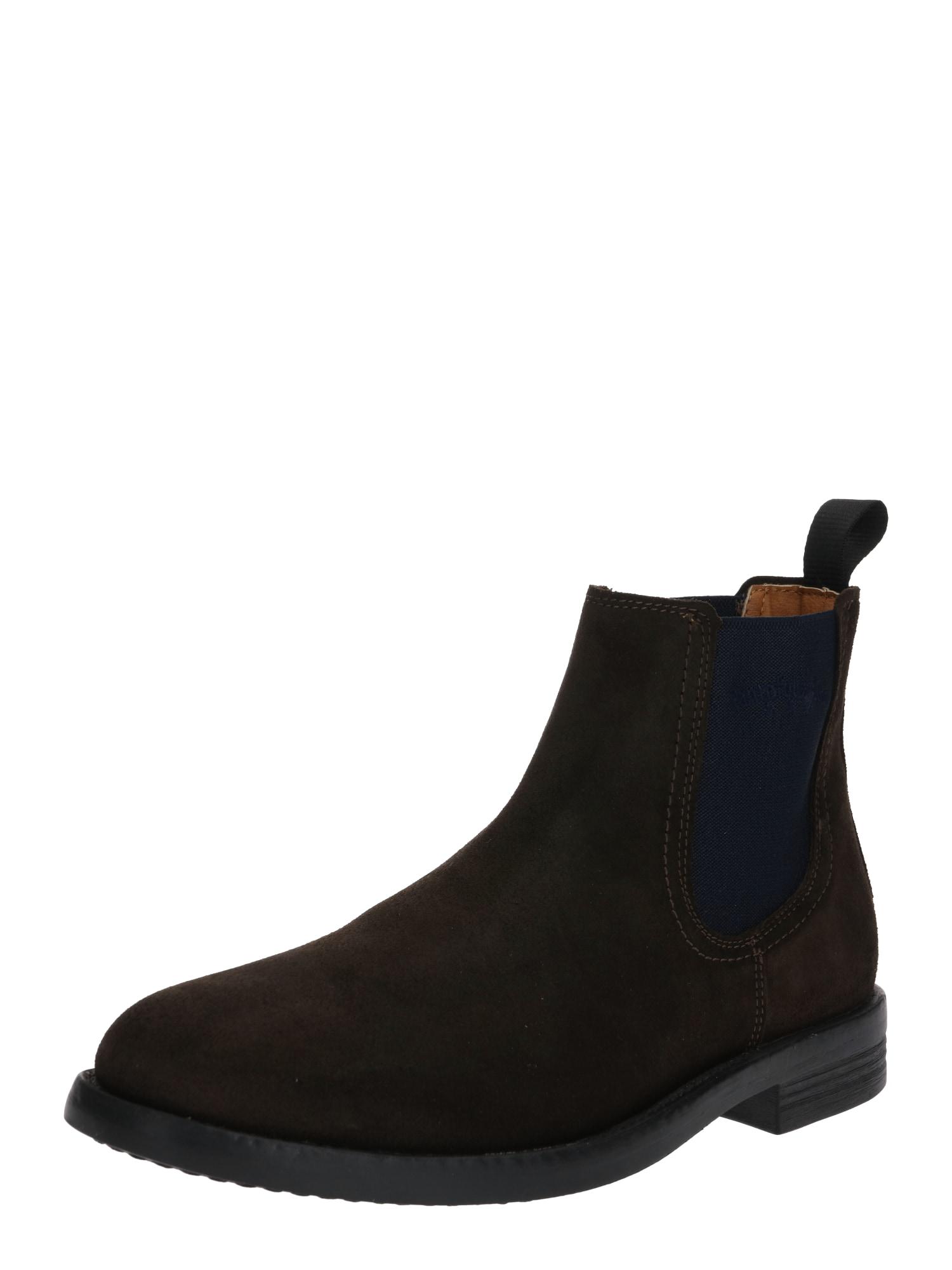 PANTOFOLA D'ORO Chelsea batai tamsiai ruda