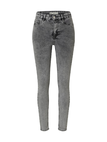 Hosen - Jeans 'Molly highwaist jeans' › Gina Tricot › grey denim  - Onlineshop ABOUT YOU