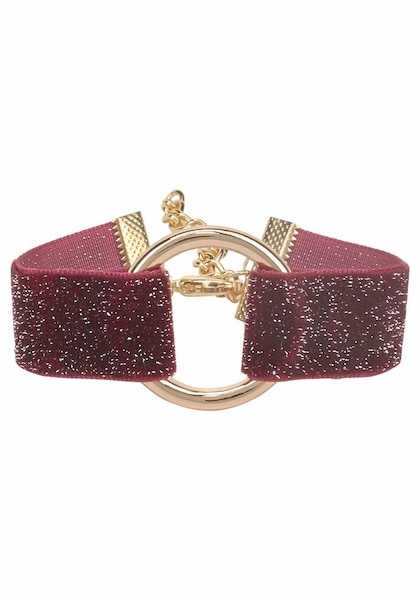 Armbaender für Frauen - J. Jayz Armband gold bordeaux  - Onlineshop ABOUT YOU