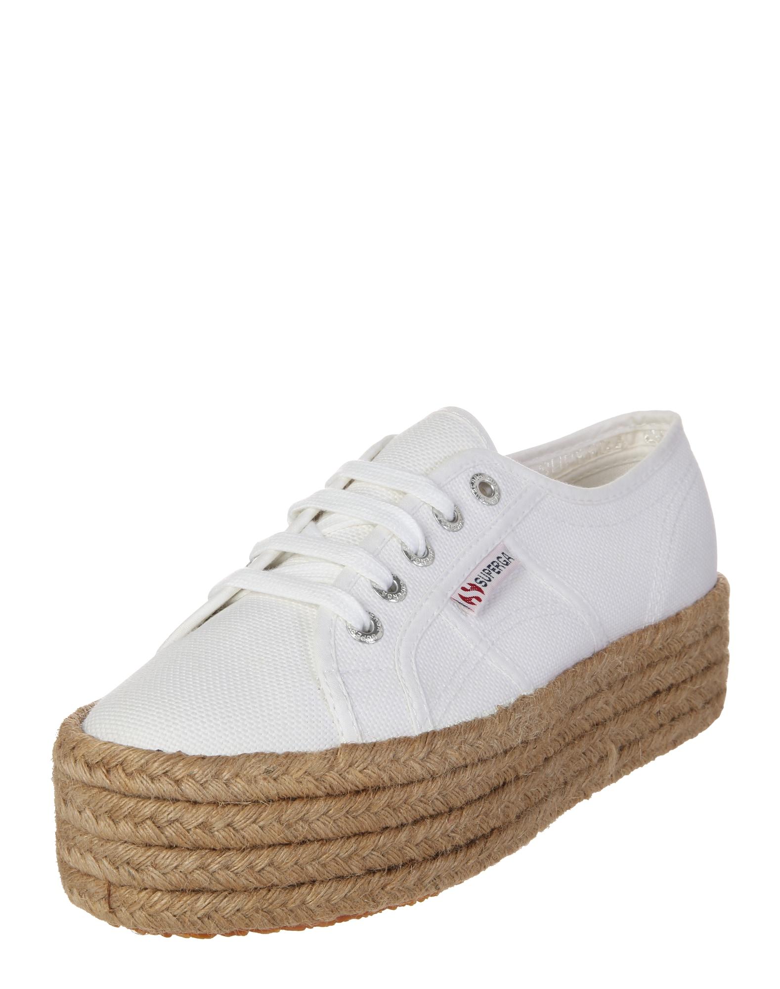 SUPERGA Sneaker low '2790 - COTROPEW'  nisip / alb