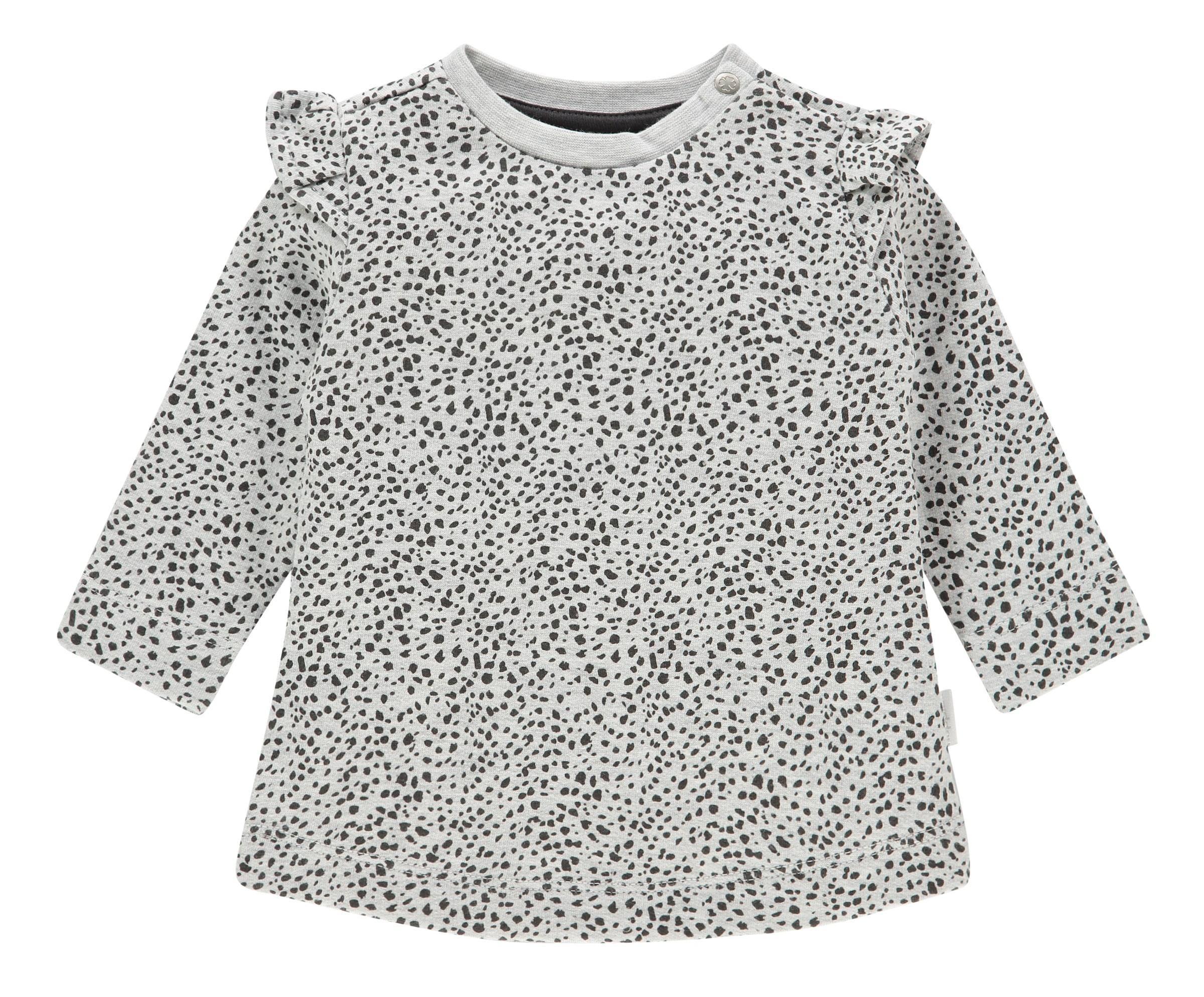 Kinder,  Mädchen,  Kinder Noppies Kleid 'Chicasaw' schwarz,  weiß | 08719788353667