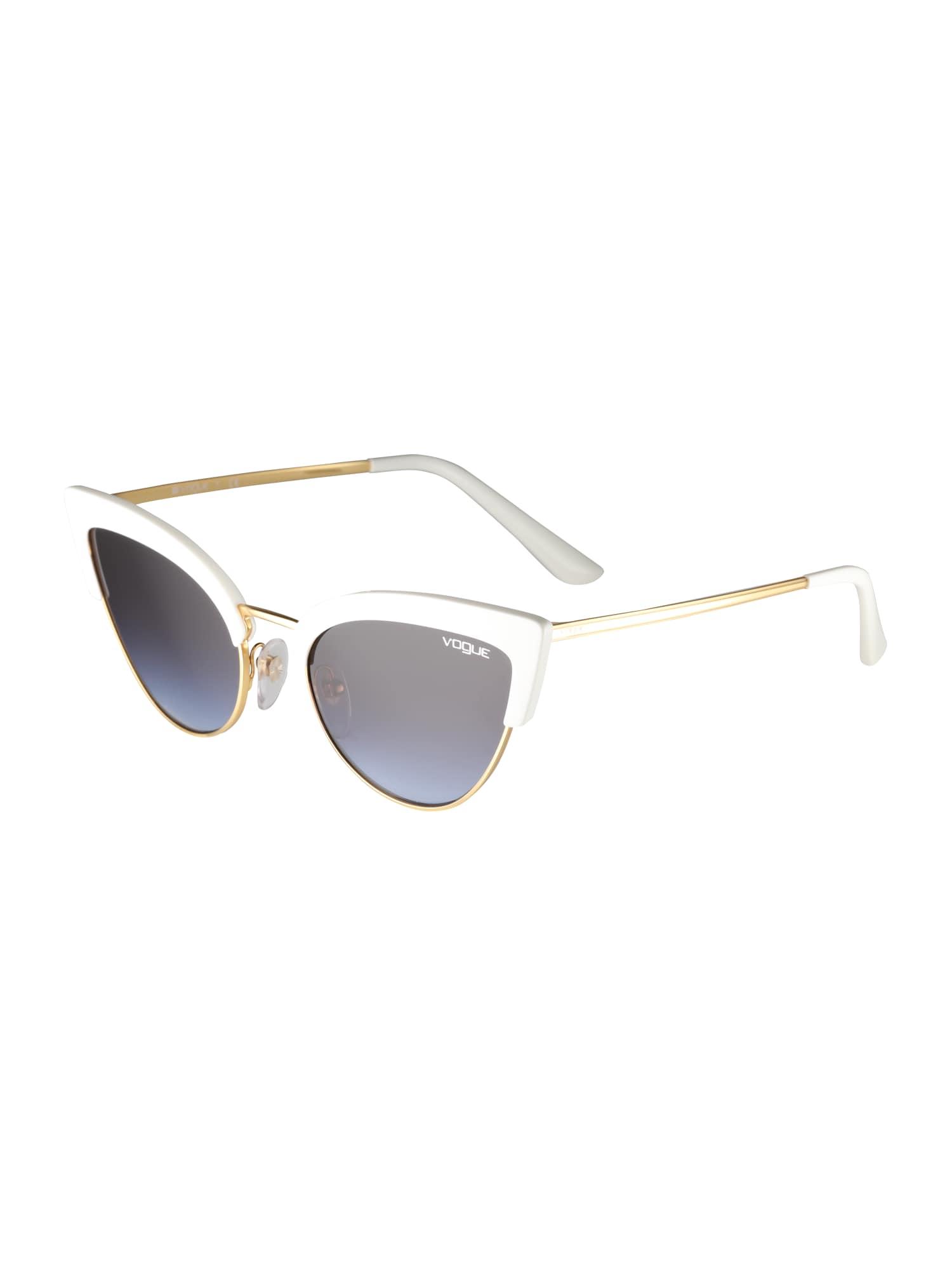Sluneční brýle zlatá fialkově modrá bílá VOGUE Eyewear