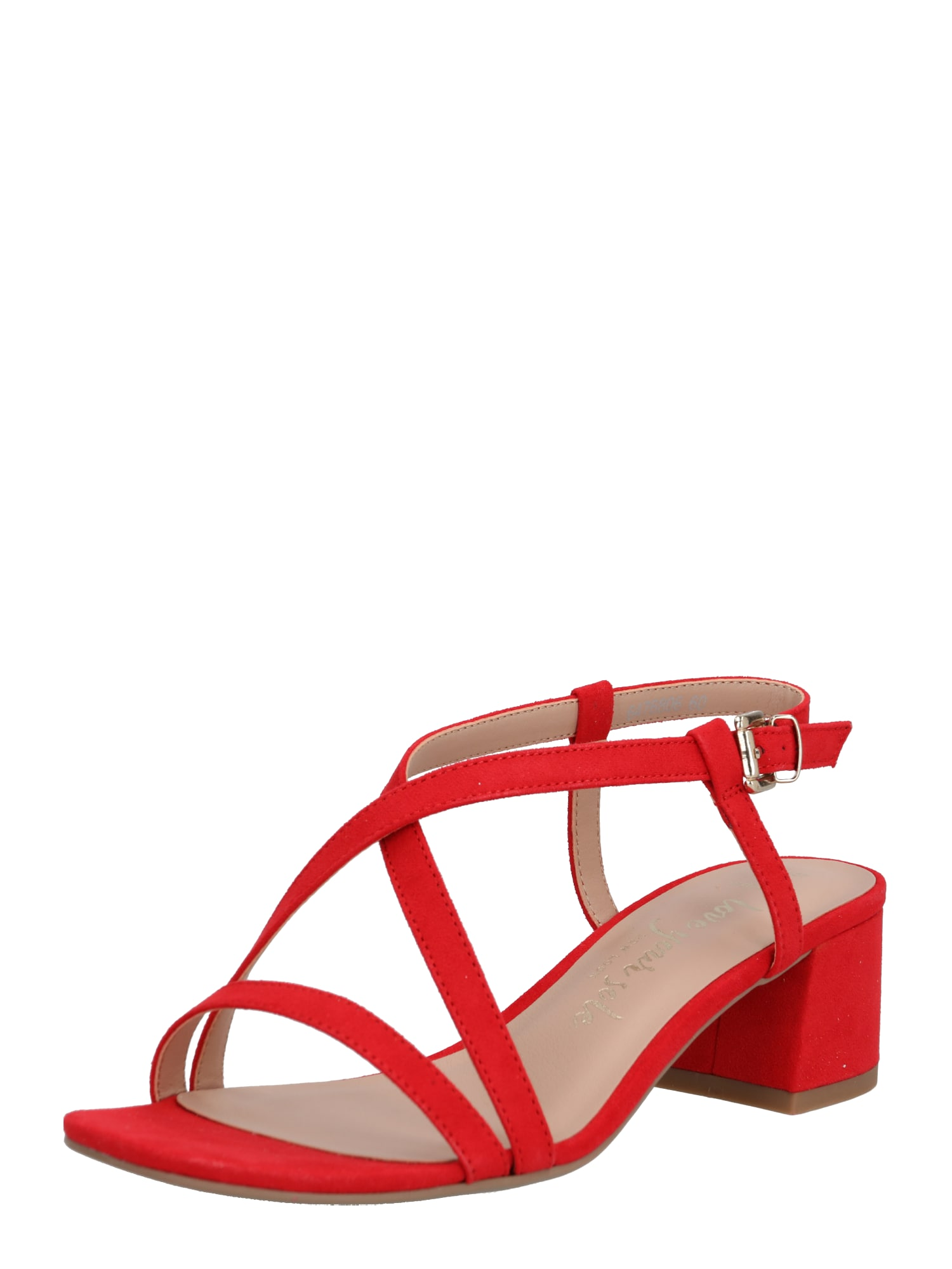 NEW LOOK Remienkové sandále 'WF RULIE'  červené