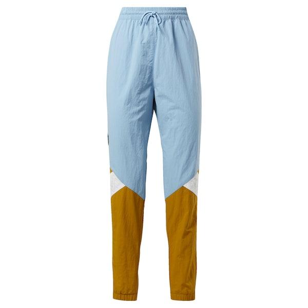 Hosen - Classic Sporthose 'Gigi Hadid Track Pants' › Reebok Classic › blau senf weiß  - Onlineshop ABOUT YOU