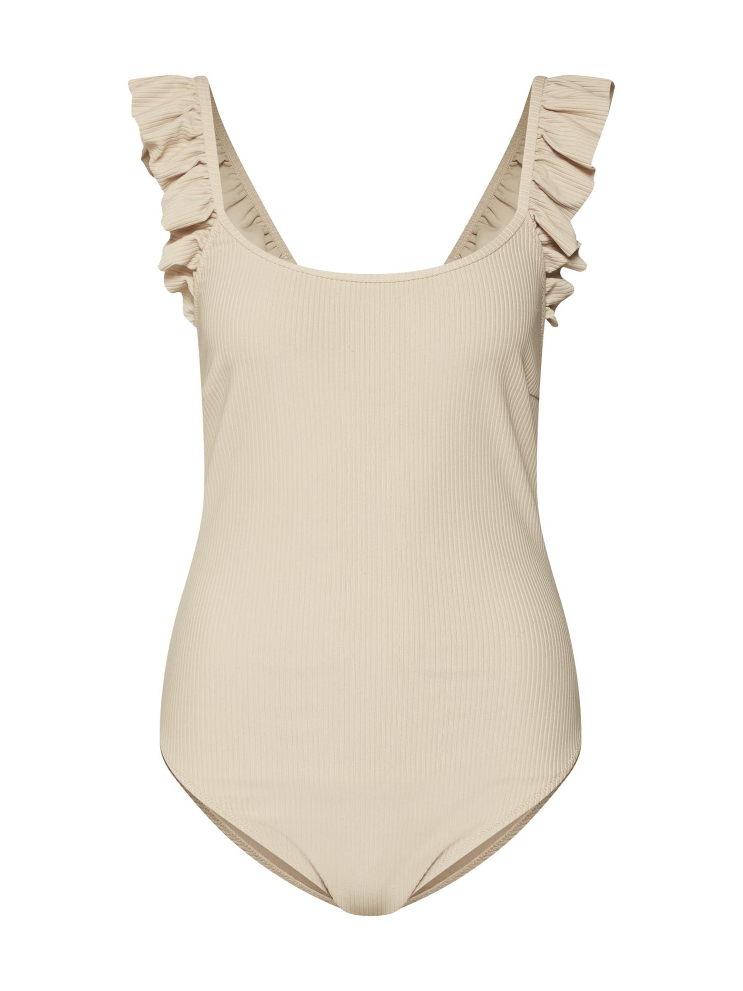 LeGer by Lena Gercke Maudymosi kostiumėlis 'Nora' smėlio