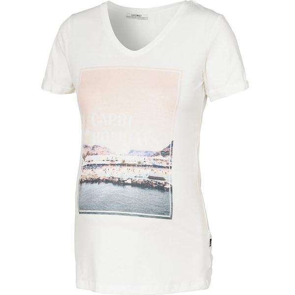 Schwangerschaftsmode für Frauen - LOVE2WAIT Shirt weiß  - Onlineshop ABOUT YOU