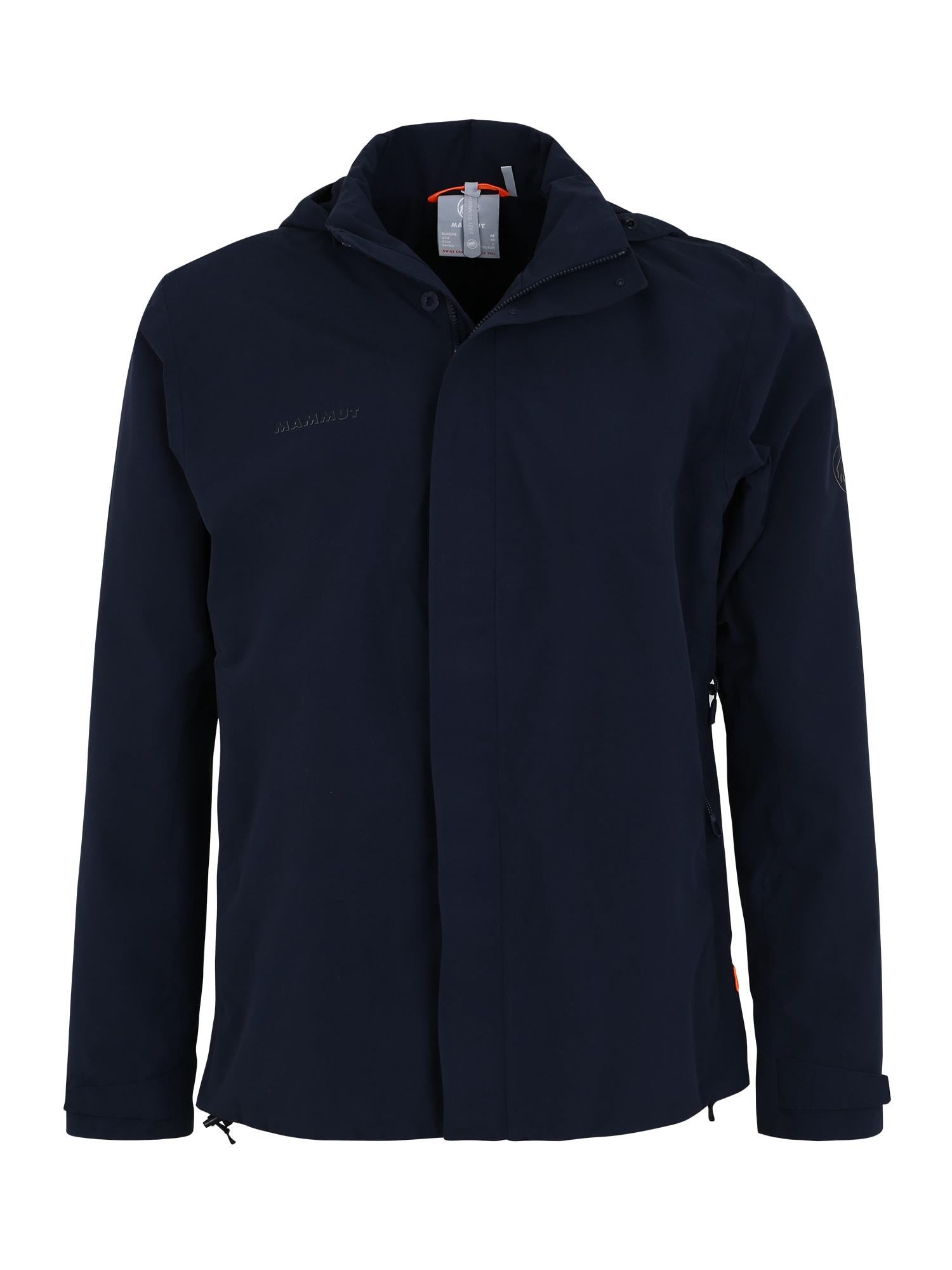 MAMMUT Outdoorová bunda 'Trovat'  námornícka modrá