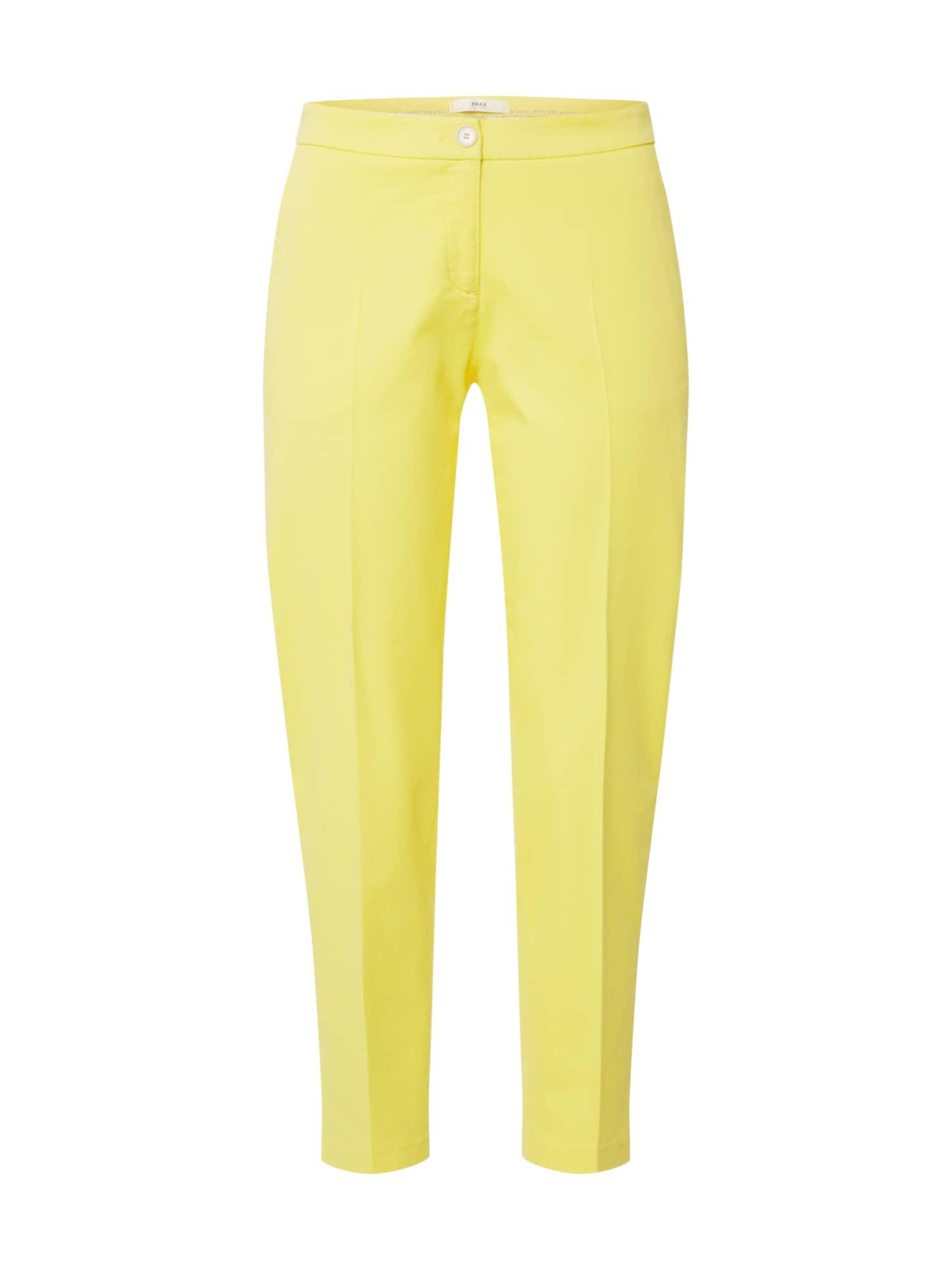 BRAX Chino stiliaus kelnės 'MARON' geltona