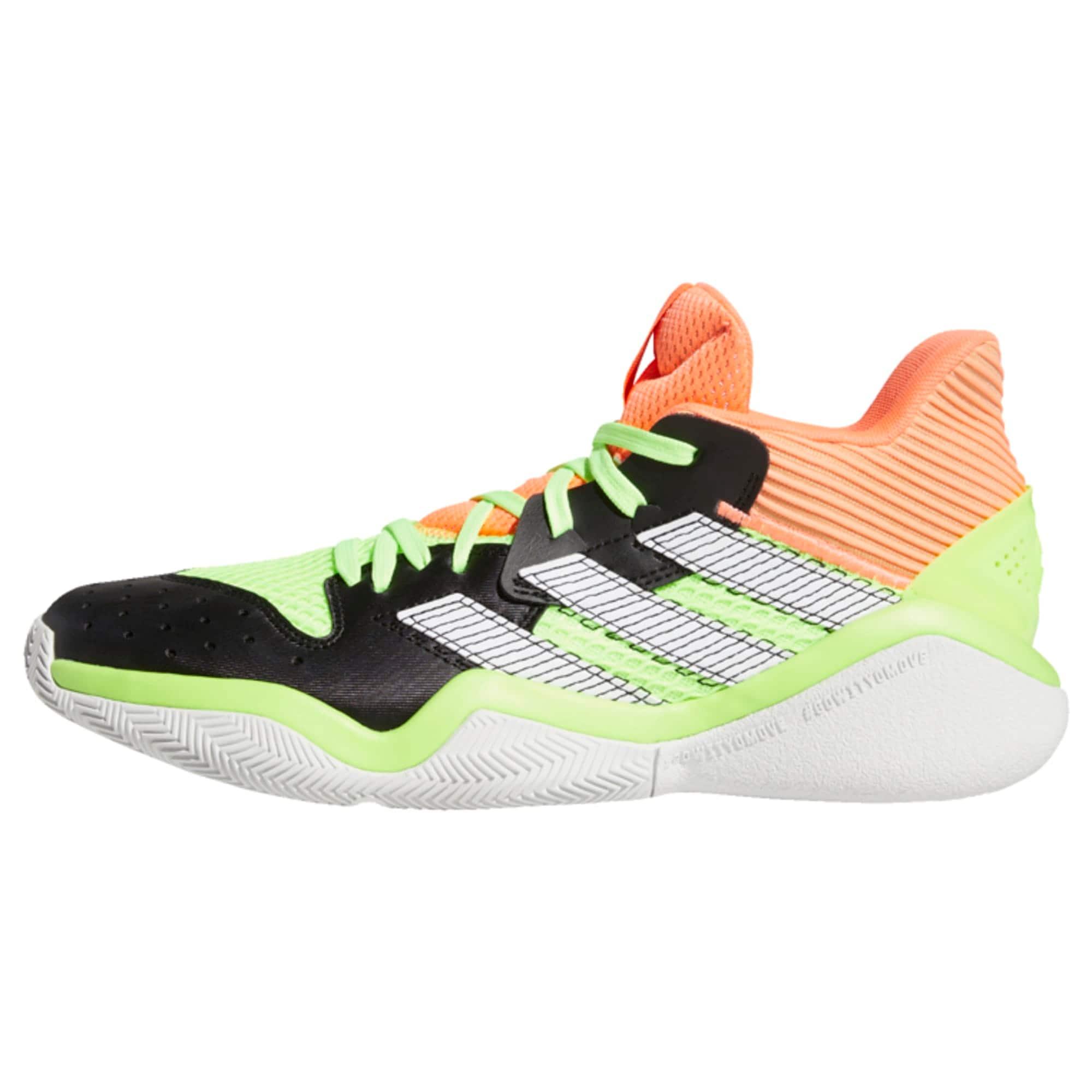 ADIDAS PERFORMANCE Sportiniai batai juoda / neoninė žalia / neoninė oranžinė