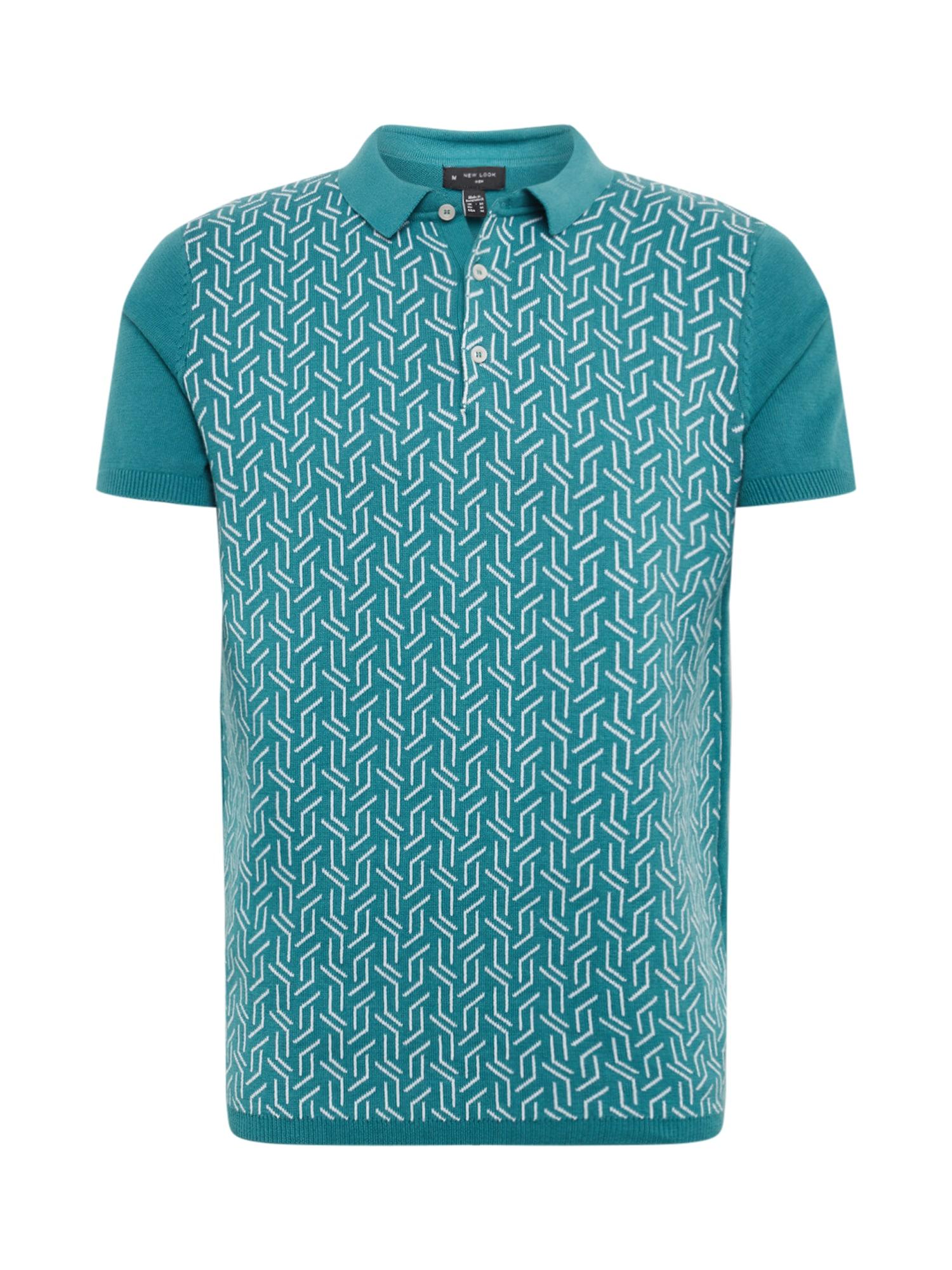 NEW LOOK Tričko  vodová / biela