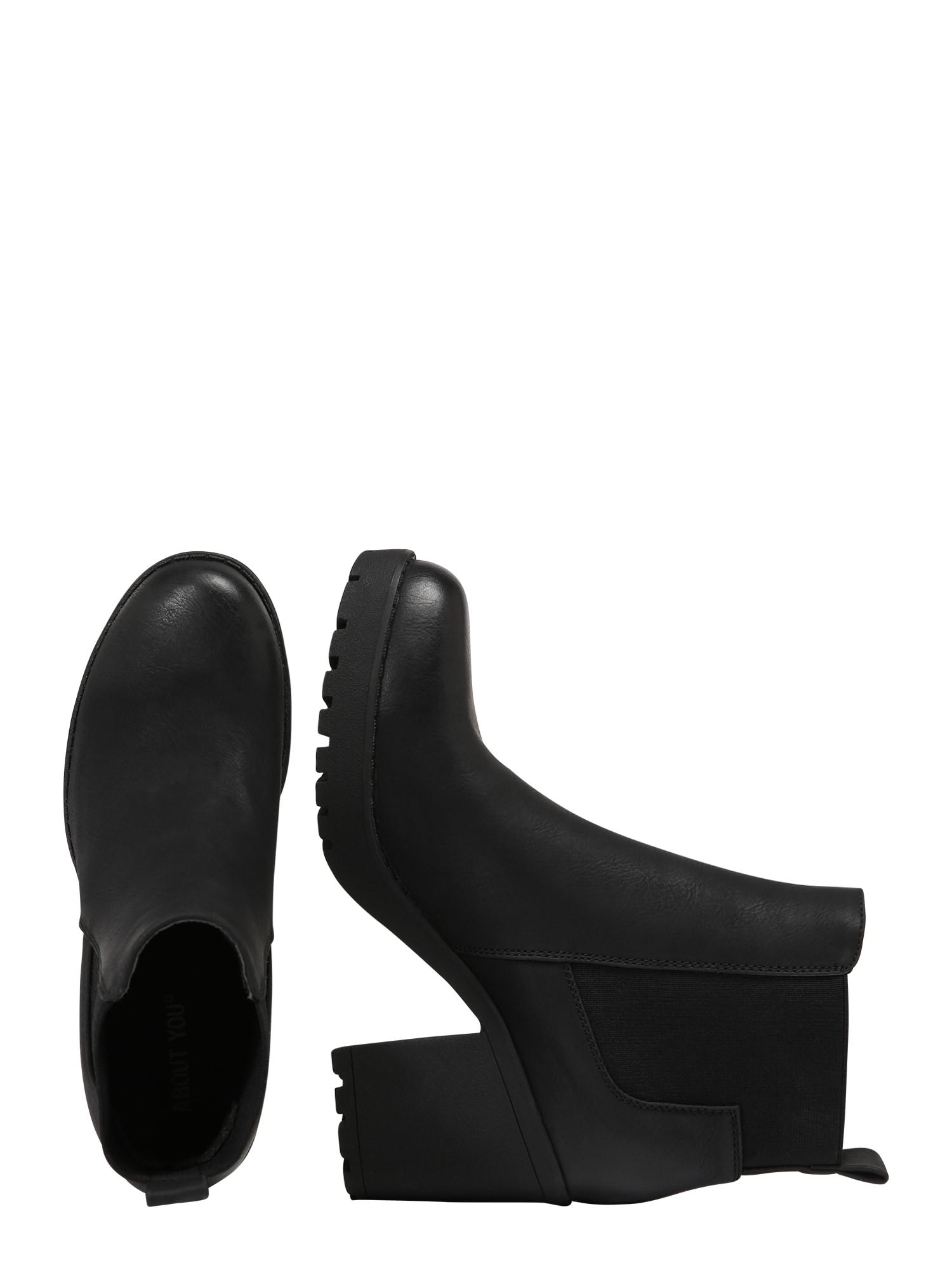 ABOUT YOU Chelsea boots 'Cassandra'  svart