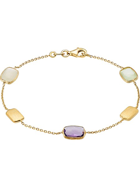 Armbaender für Frauen - CHRIST Armband gold helllila weiß  - Onlineshop ABOUT YOU