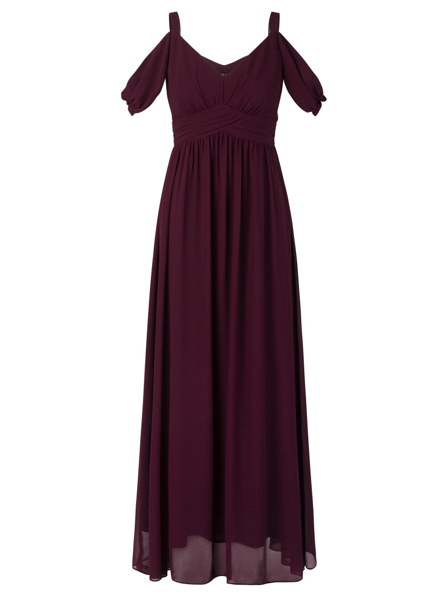 APART Vakarinė suknelė vyno raudona spalva