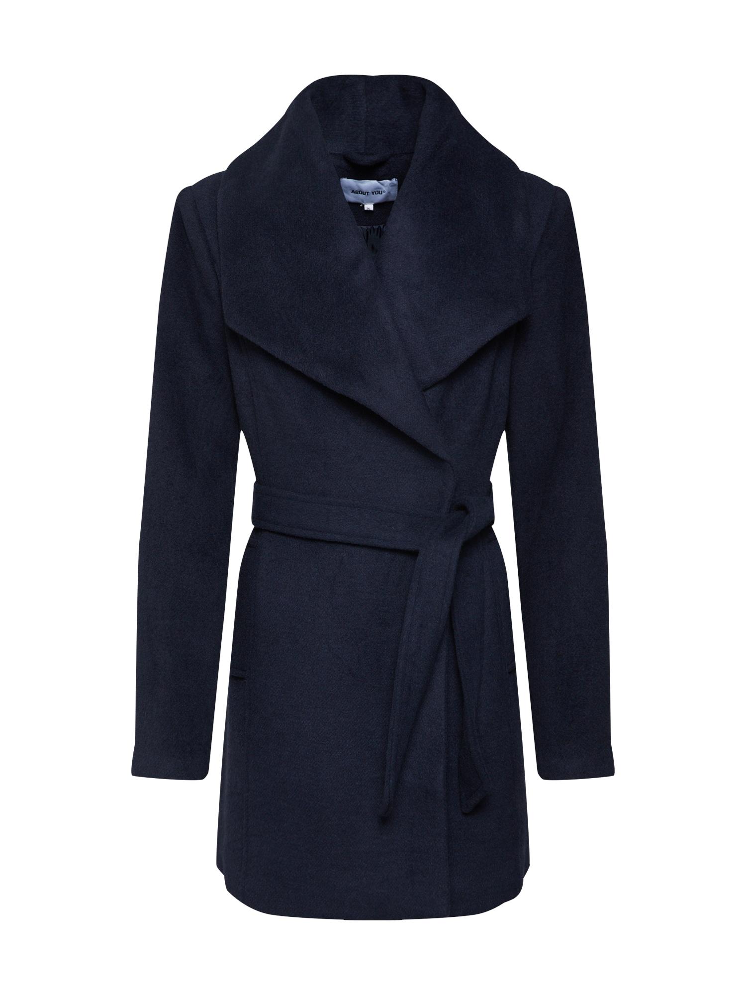 ABOUT YOU Žieminis paltas tamsiai mėlyna