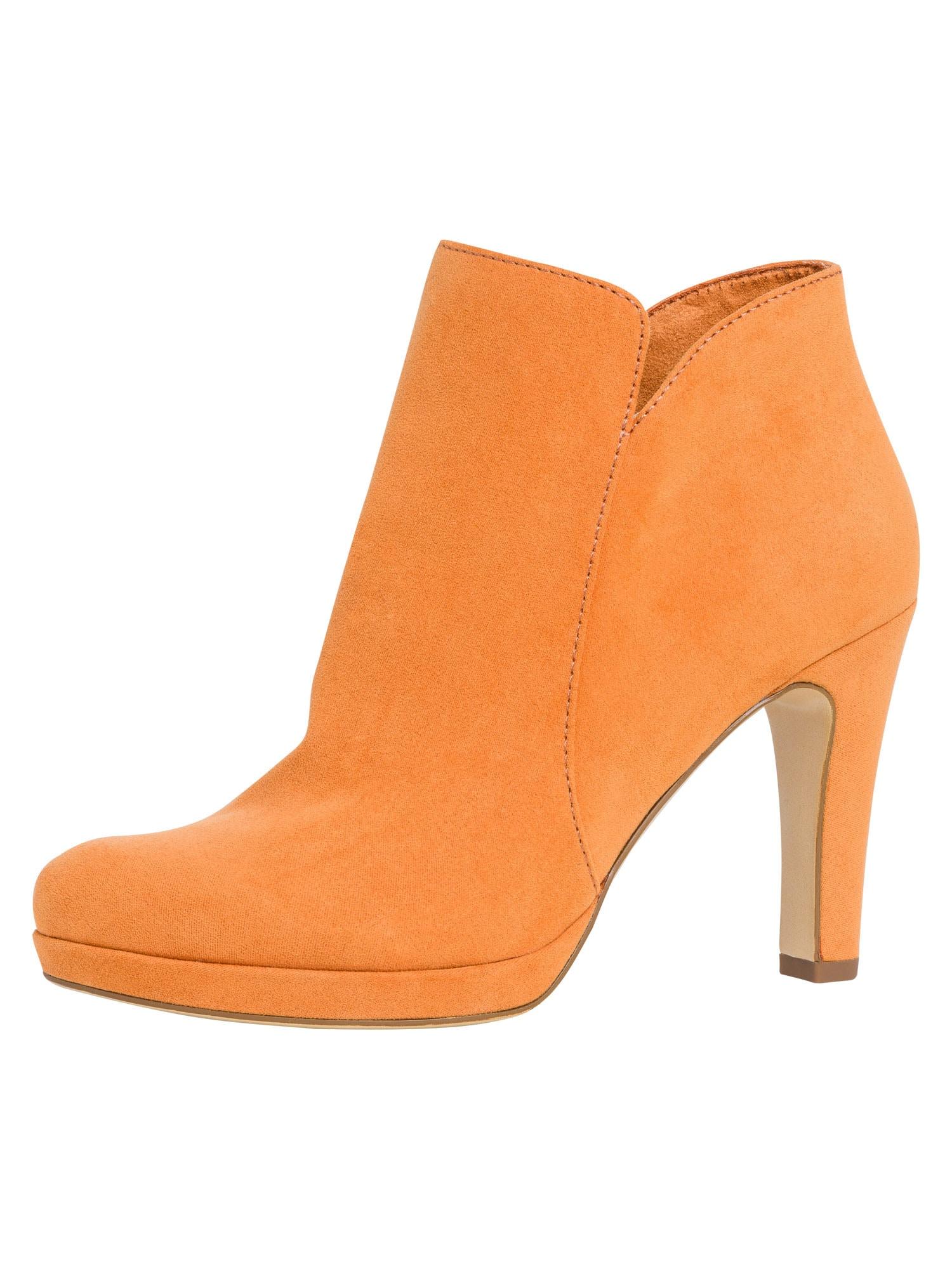 TAMARIS Kulkšnis dengiantys batai šviesiai oranžinė