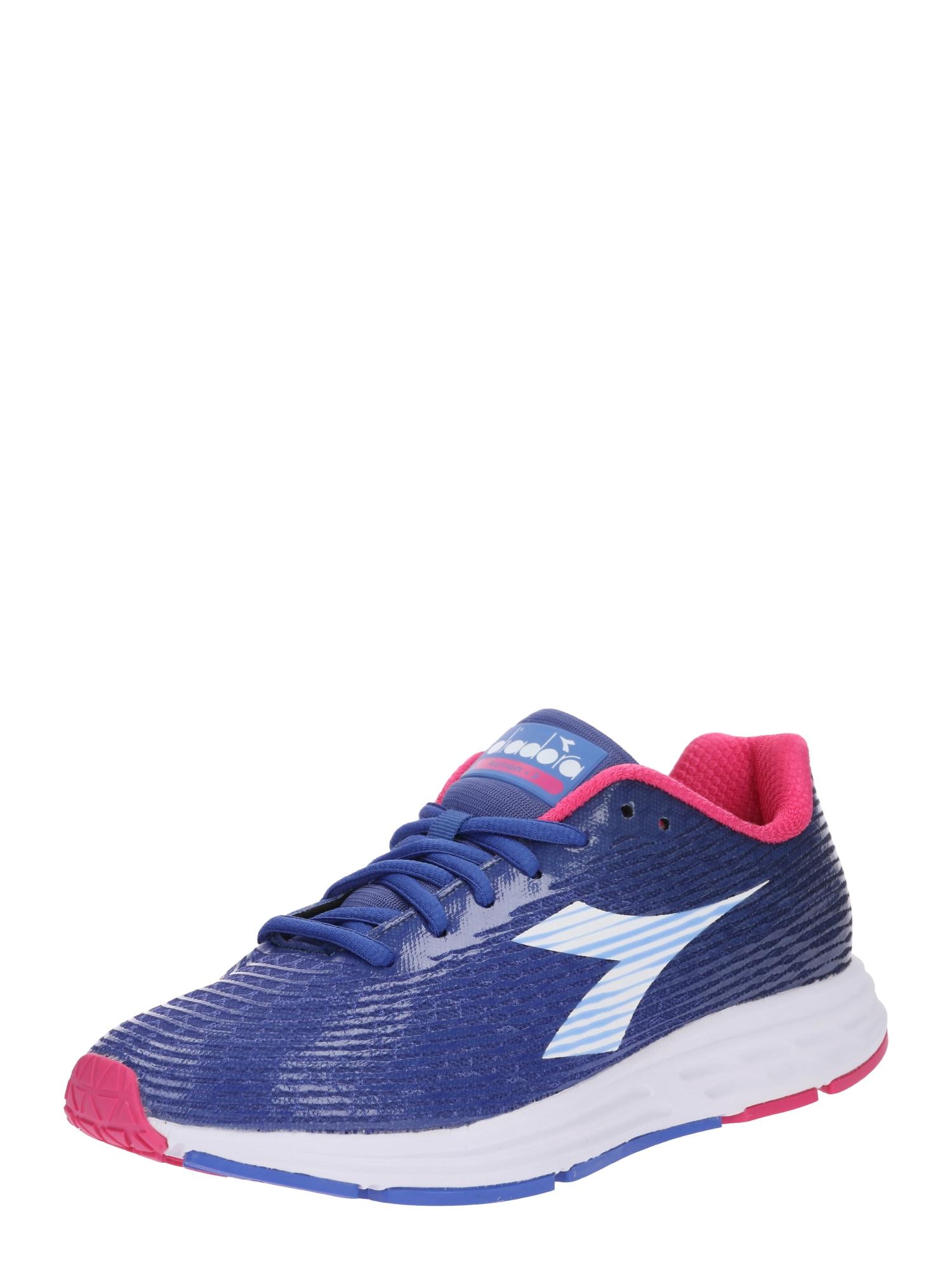 Běžecká obuv ACTION modrá pink bílá Diadora