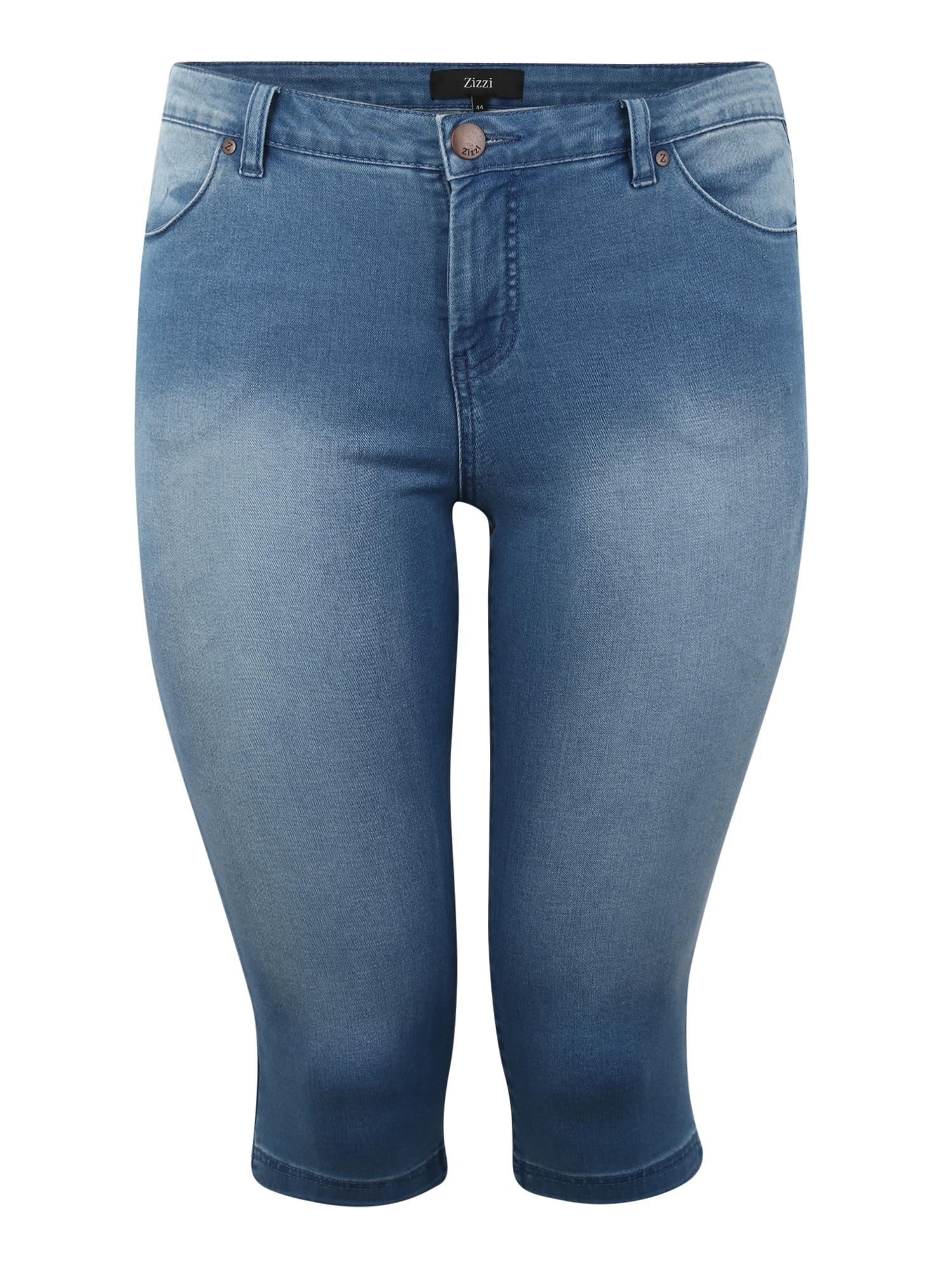 Zizzi Džinsai tamsiai (džinso) mėlyna
