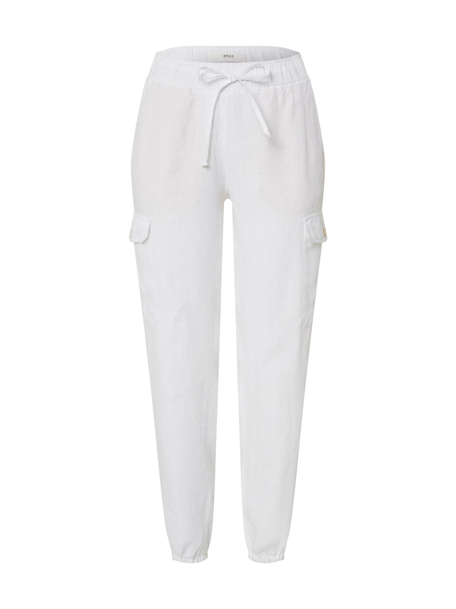 BRAX Chino stiliaus kelnės 'Mareen' balta