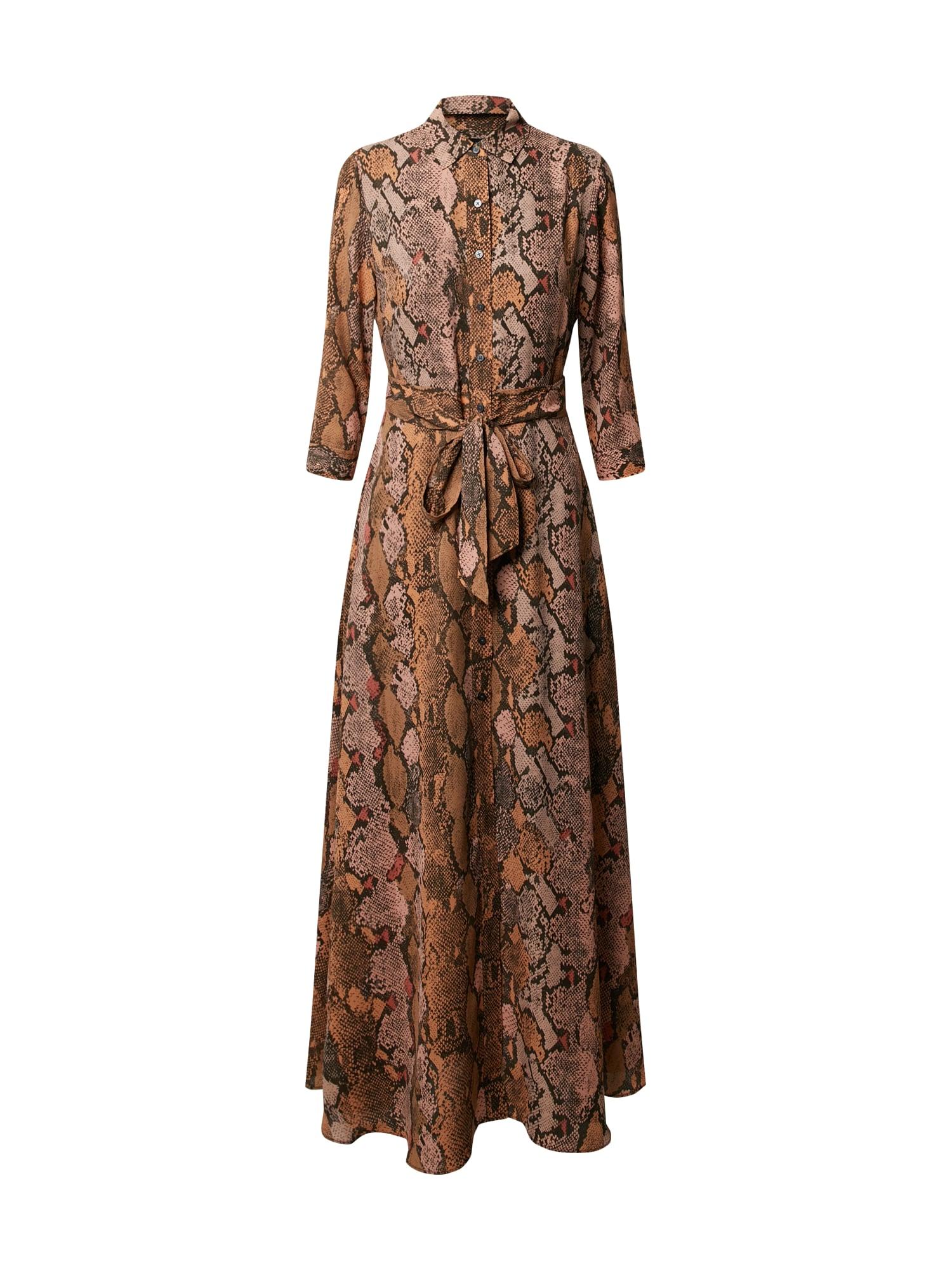 Banana Republic Palaidinės tipo suknelė 'SAVANNAH' mišrios spalvos / ruda