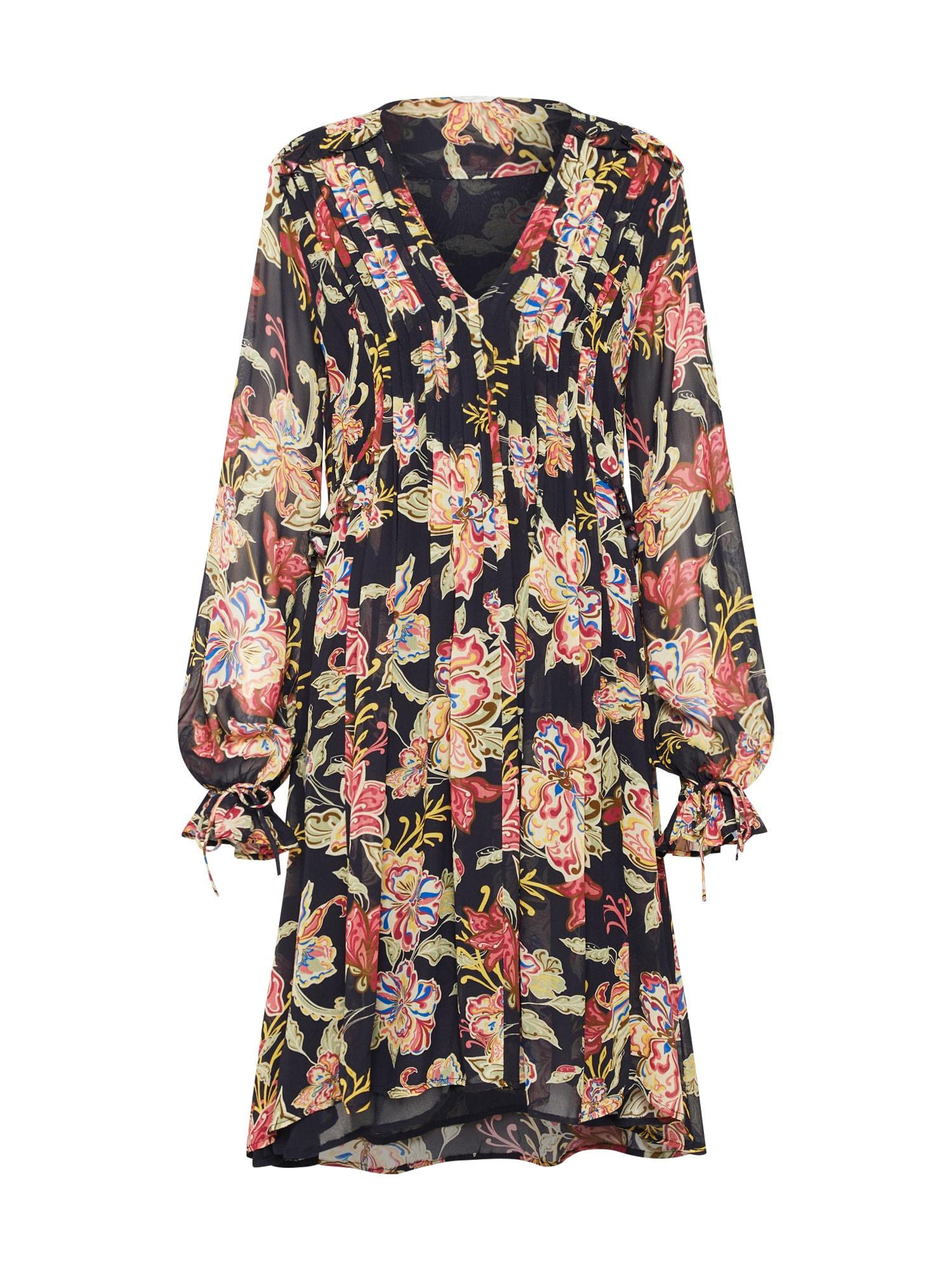 Letní šaty mix barev černá Frogbox