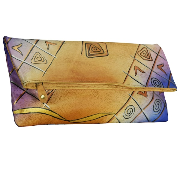 Clutches für Frauen - Clutch 'Art Craft' › GREENLAND › mehrfarbig  - Onlineshop ABOUT YOU