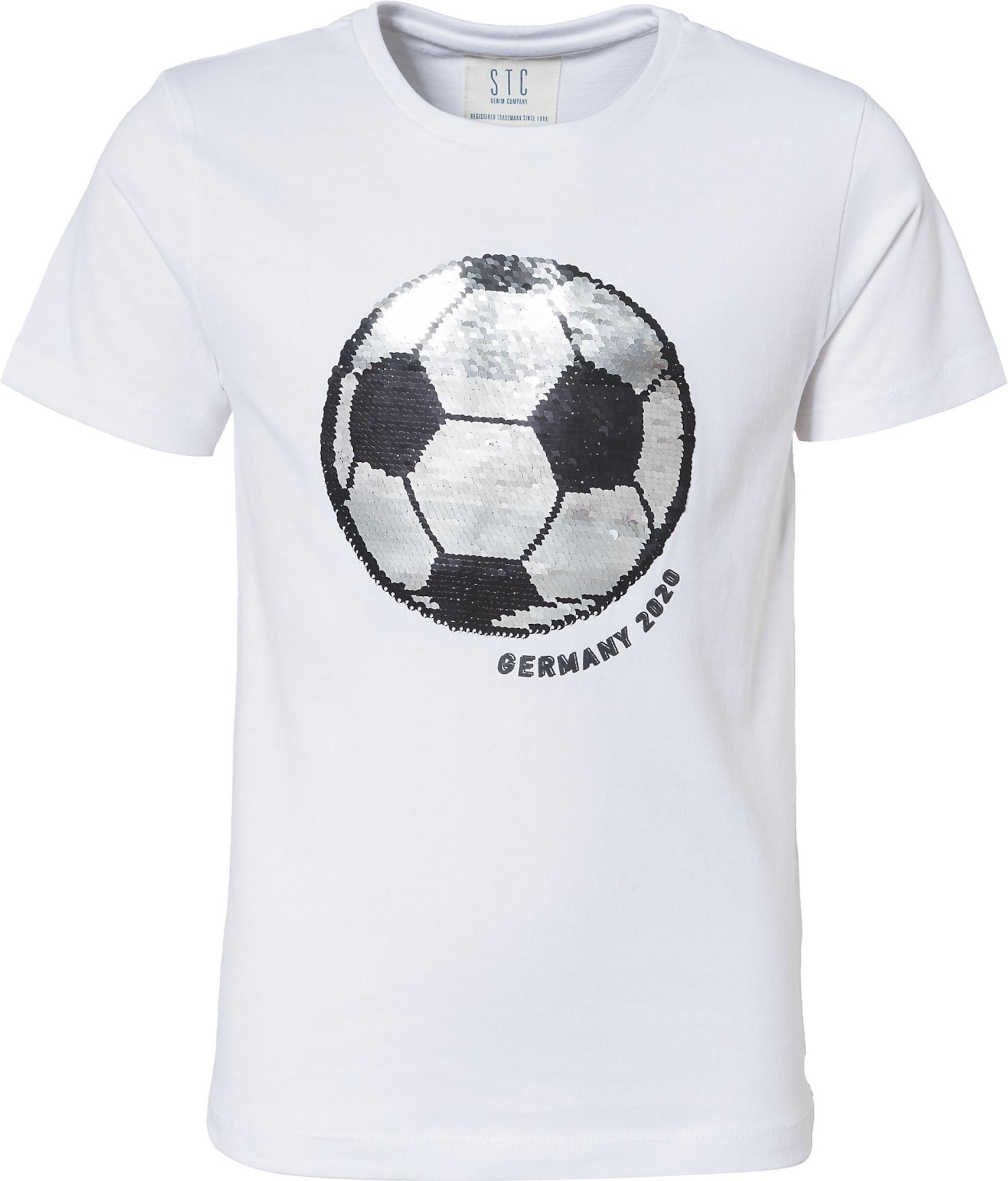 STACCATO Tričko  biela / čierna