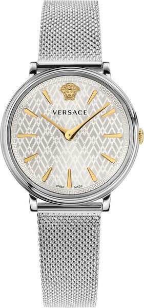 Uhren für Frauen - VERSACE Schweizer Uhr 'VBP050017' (Set, 2 tlg.) silber  - Onlineshop ABOUT YOU