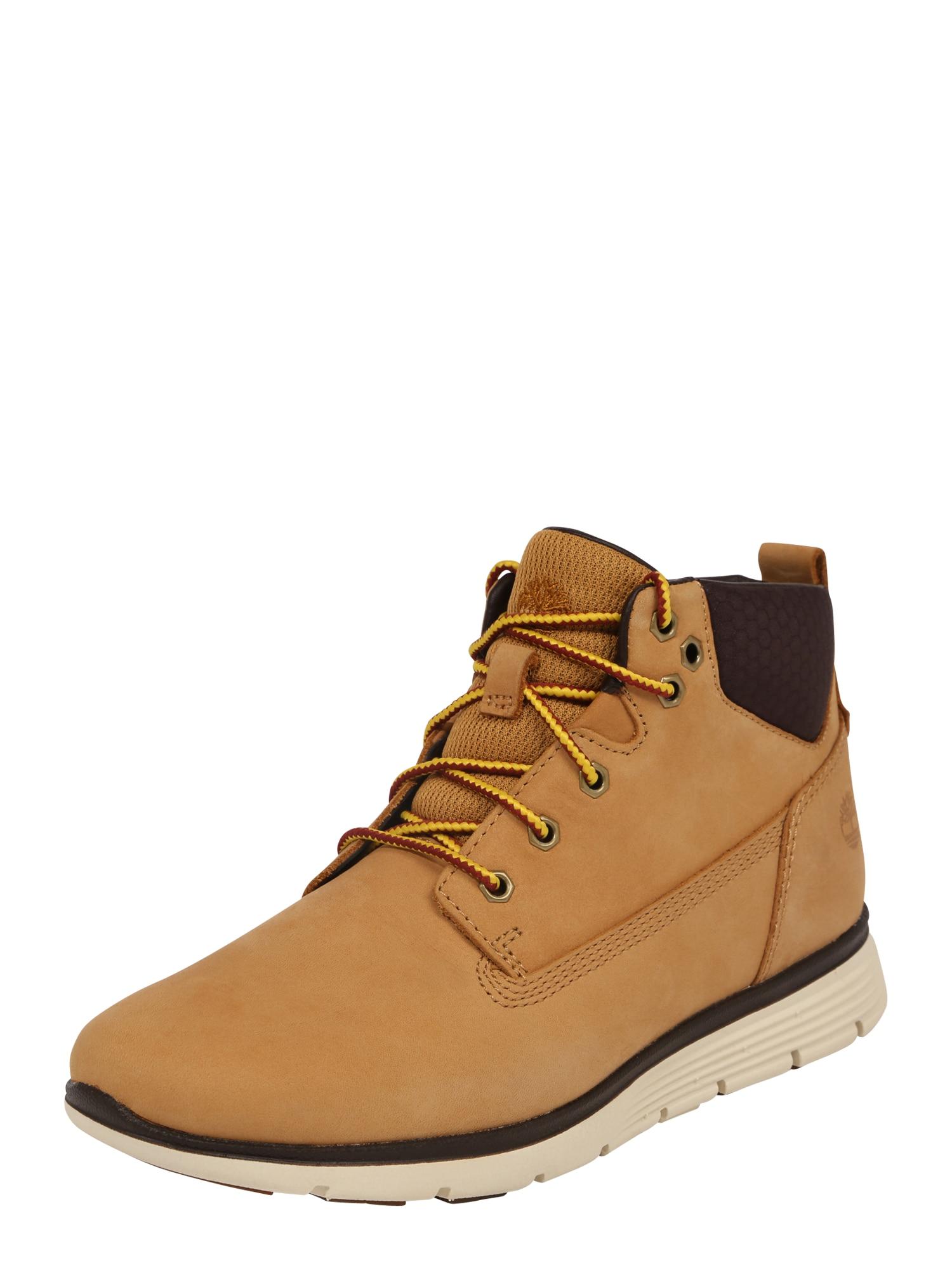 TIMBERLAND Auliniai batai su kulniuku 'Killington Chukka' ruda