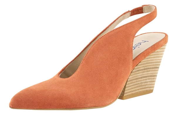 Pumps für Frauen - Heine Slingpumps dunkelorange  - Onlineshop ABOUT YOU