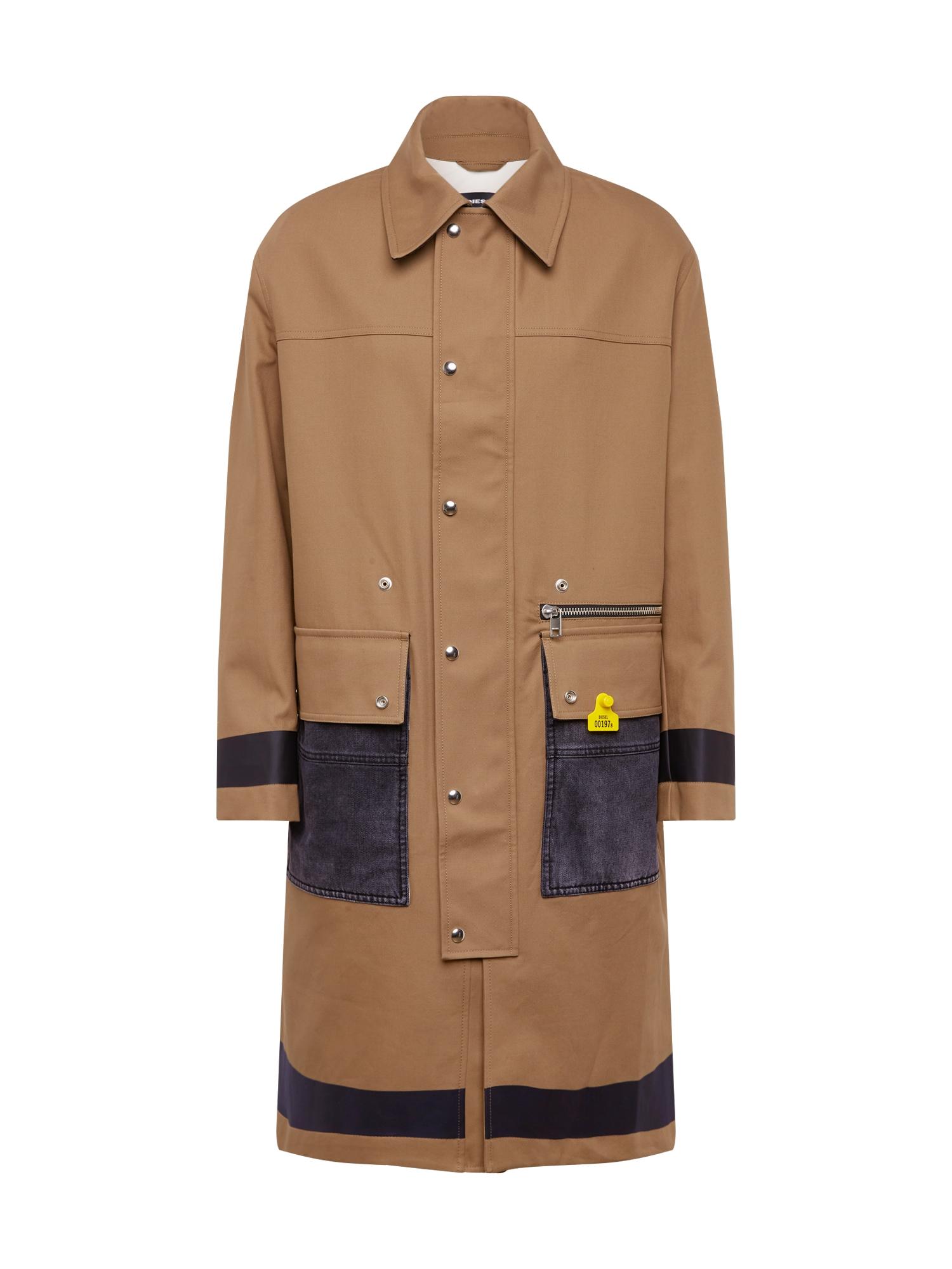 DIESEL Rudeninis-žieminis paltas 'J-ROBERT' šviesiai ruda