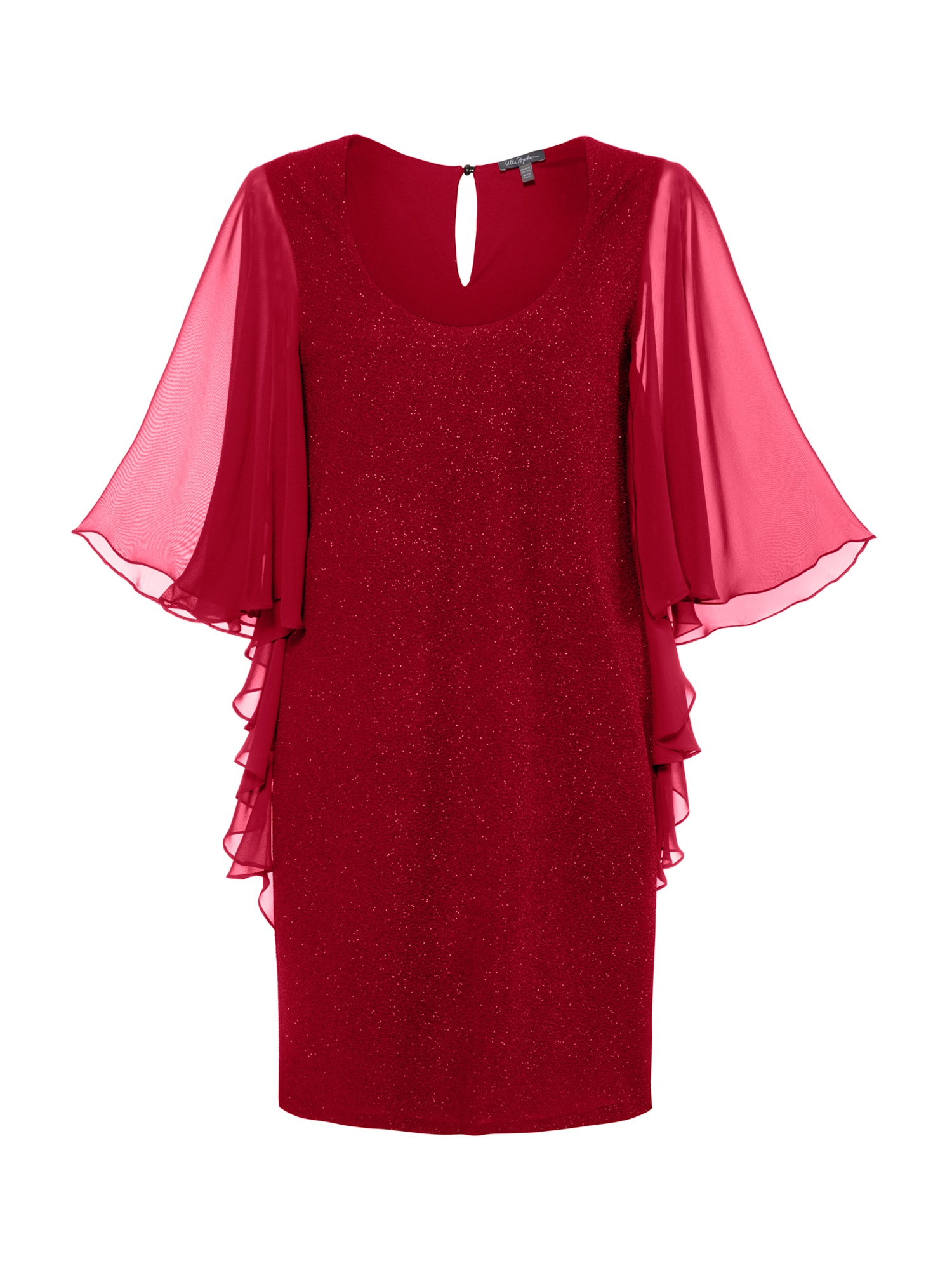 Ulla Popken Společenské šaty  červená
