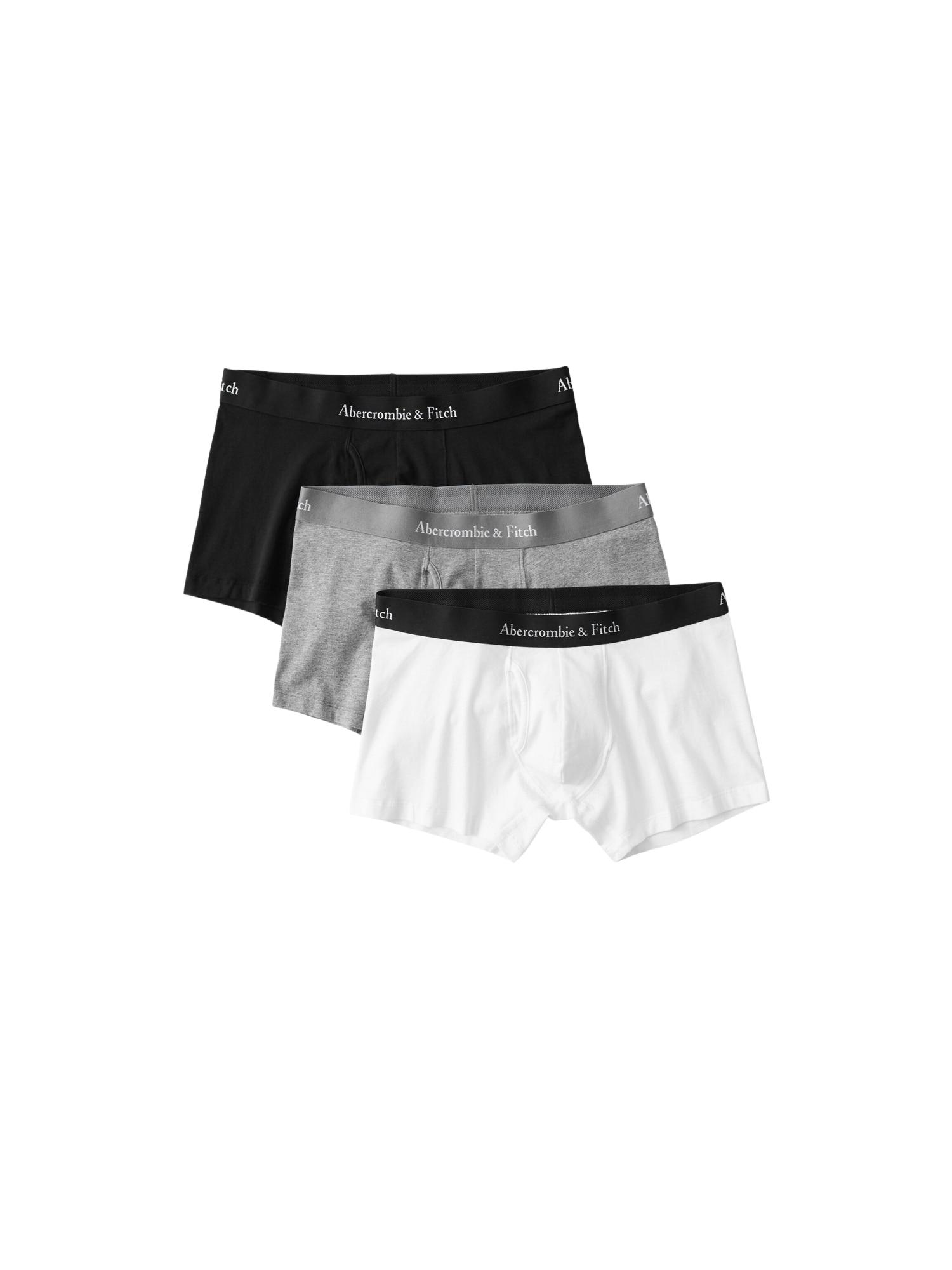Abercrombie & Fitch Boxerky  sivá