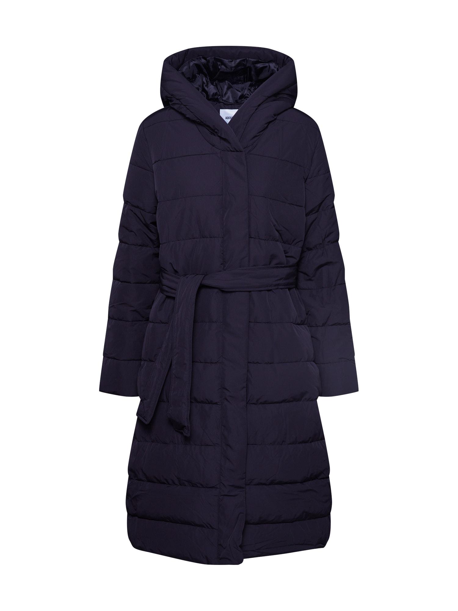 ABOUT YOU Žieminis paltas 'Chadia' juoda
