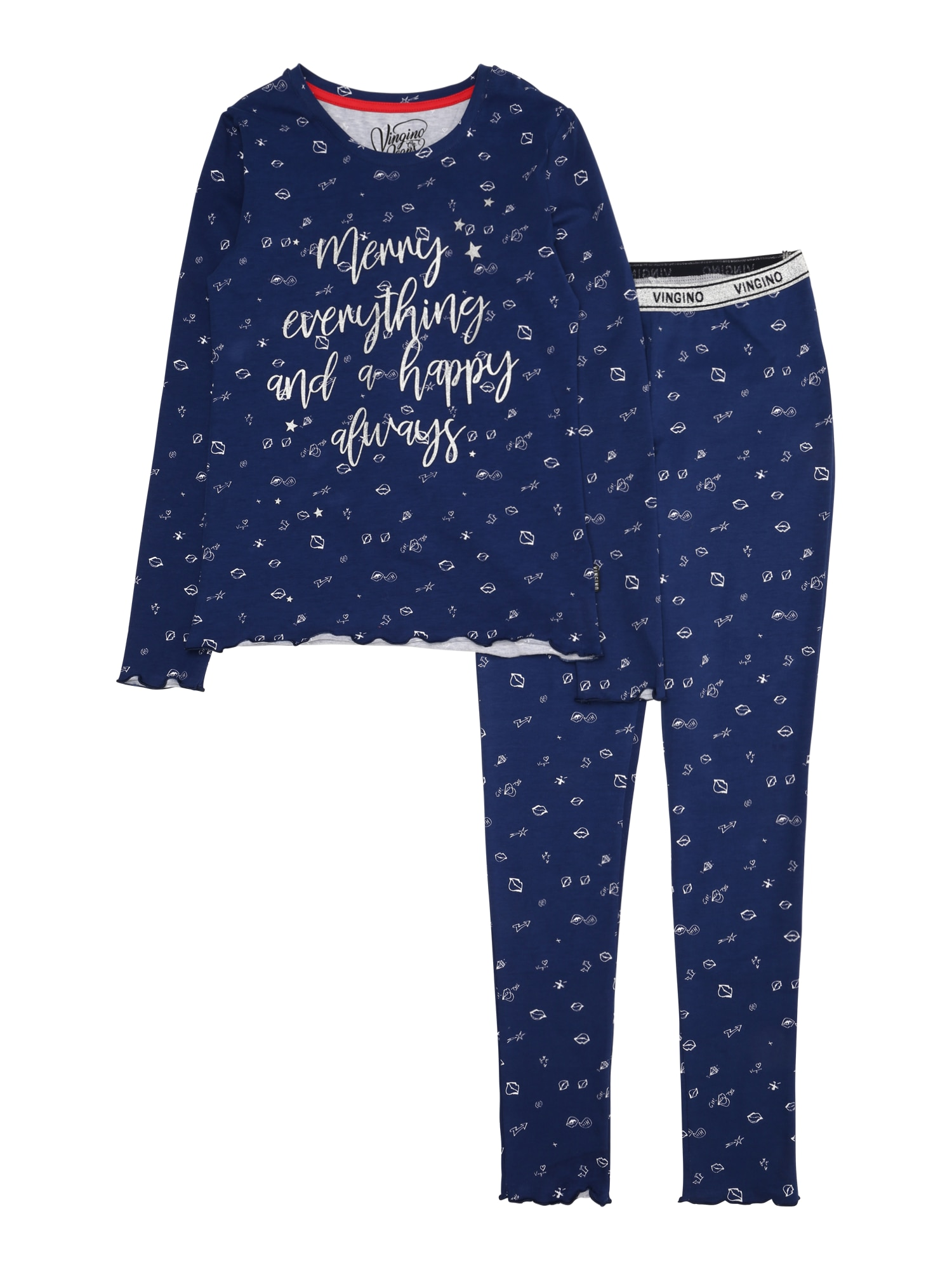 Pyžamo Winka tmavě modrá VINGINO