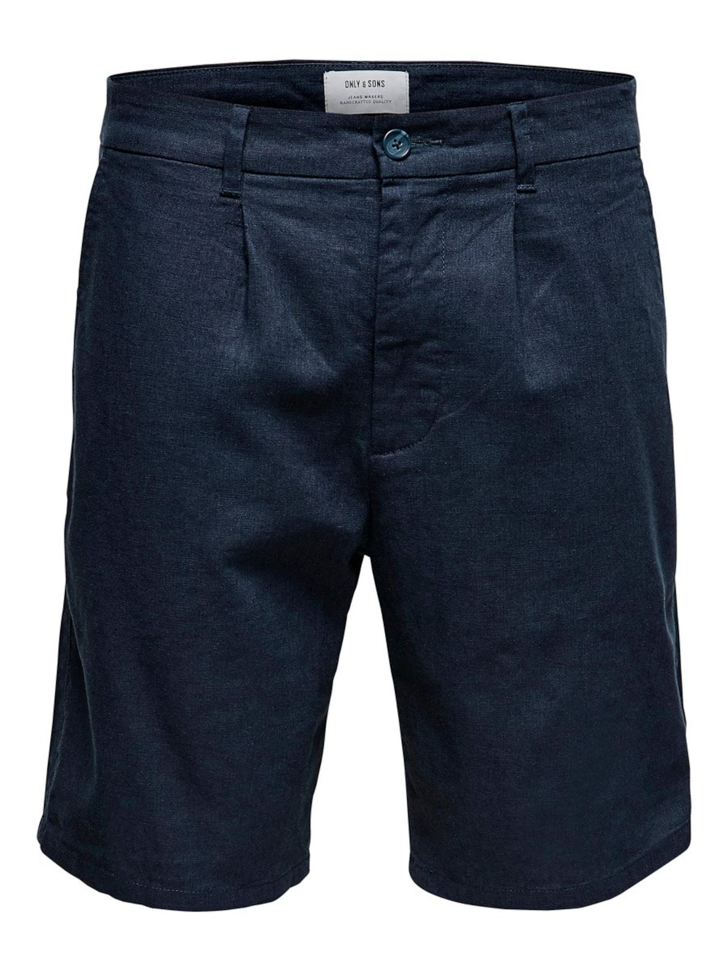Only & Sons Chino kalhoty  marine modrá