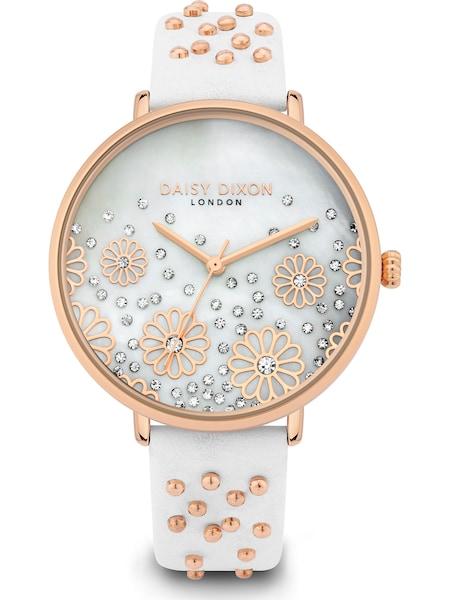 Uhren - Uhr › DAISY DIXON › rosegold weiß  - Onlineshop ABOUT YOU