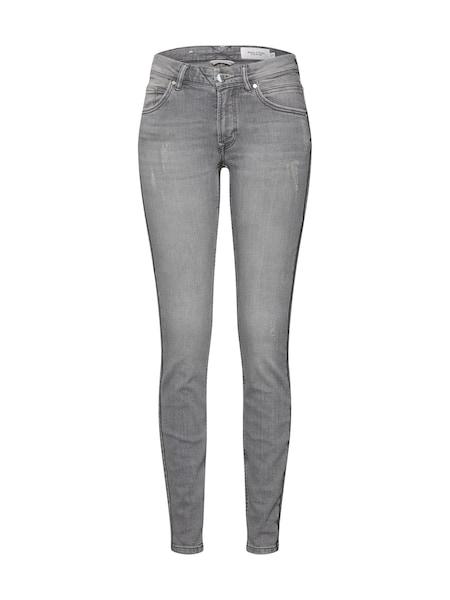Hosen - Damen Jeans 'ALVA SLIM' › Marc O'Polo DENIM › grey denim  - Onlineshop ABOUT YOU
