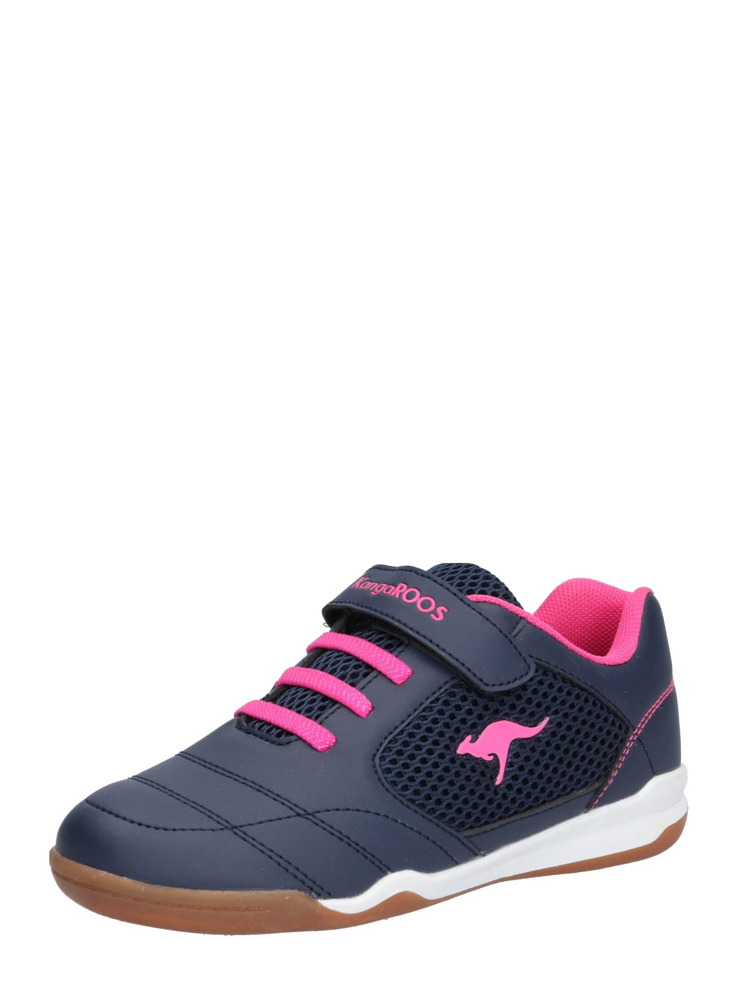 Tenisky námořnická modř pink KangaROOS