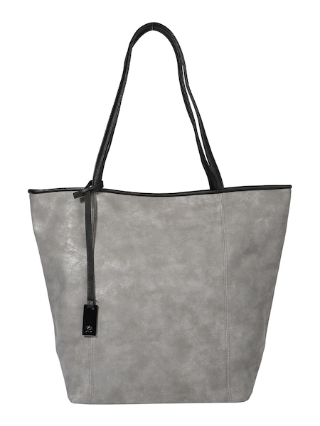 Shopper für Frauen - TOM TAILOR DENIM Shopper 'MILA' grau  - Onlineshop ABOUT YOU
