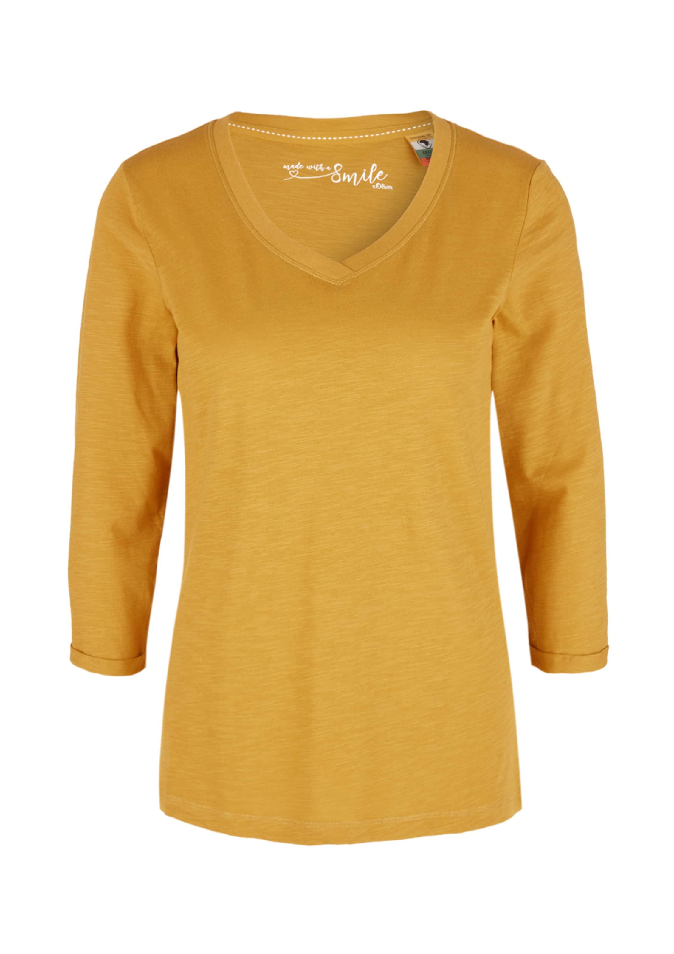 Damen S.Oliver Shirt gelb,  gold, grau,  grün,  olive | 04062033814890